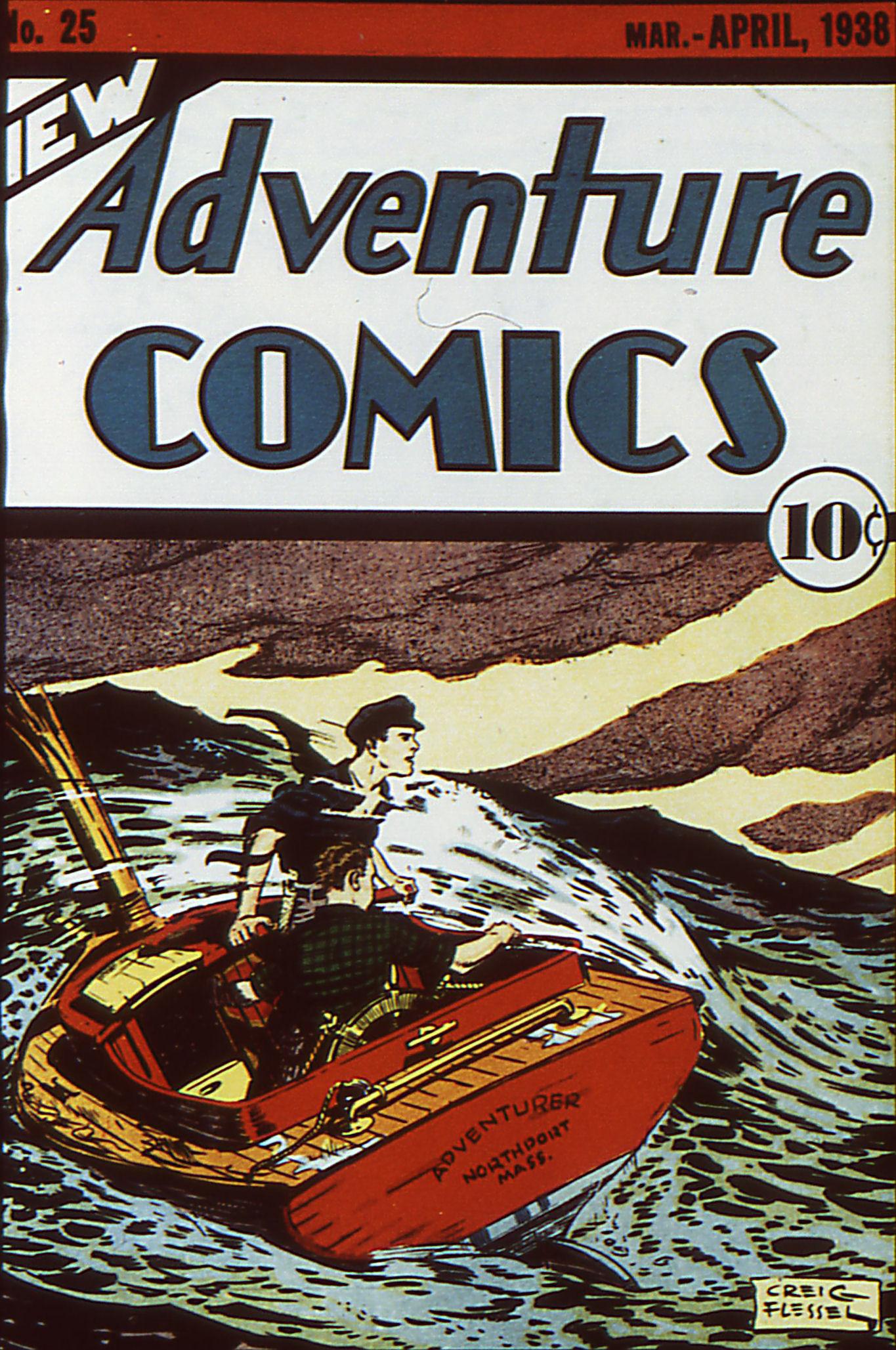 Adventure Comics (1938) 25 Page 1