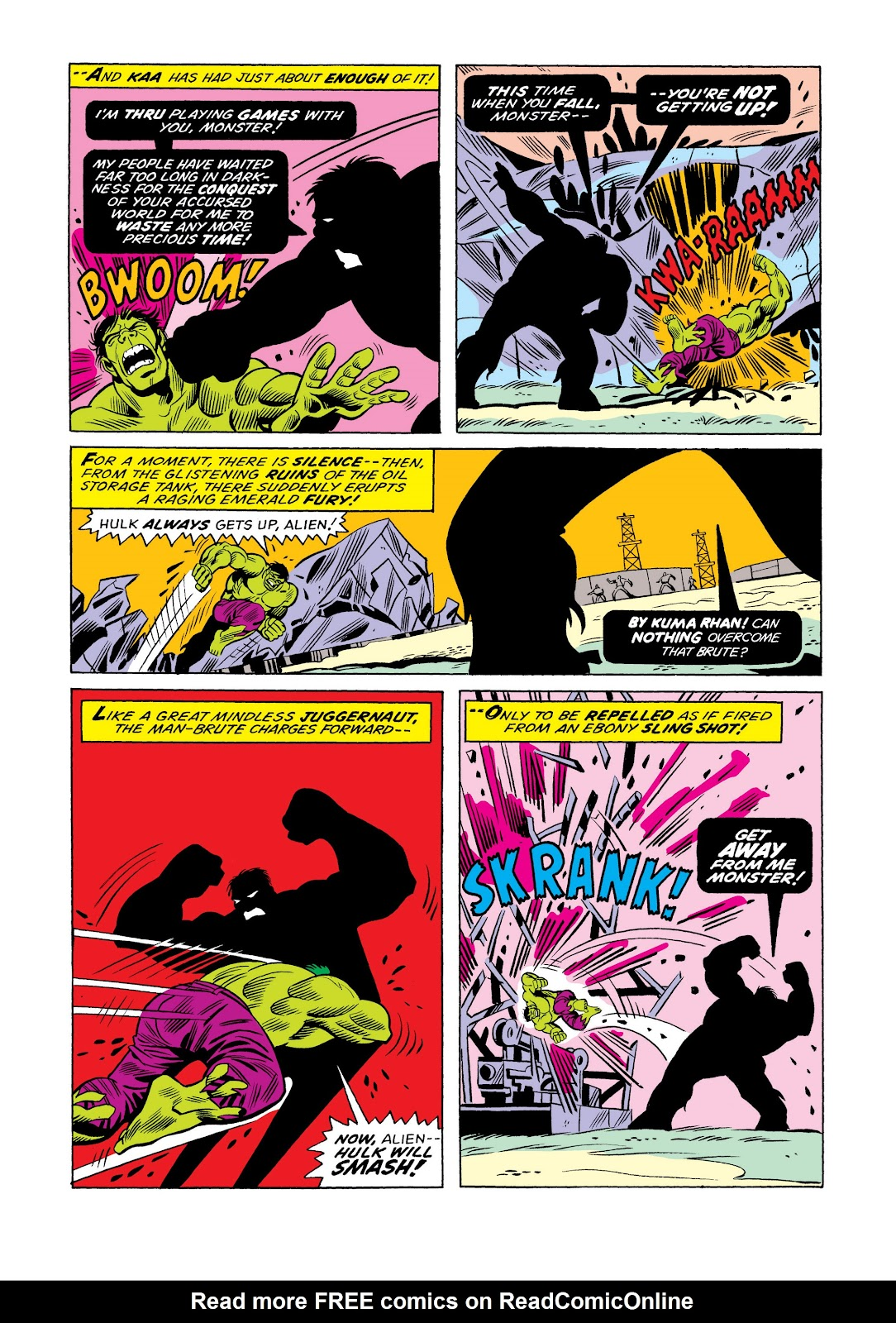 Read online Marvel Masterworks: The Incredible Hulk comic -  Issue # TPB 11 (Part 1) - 21