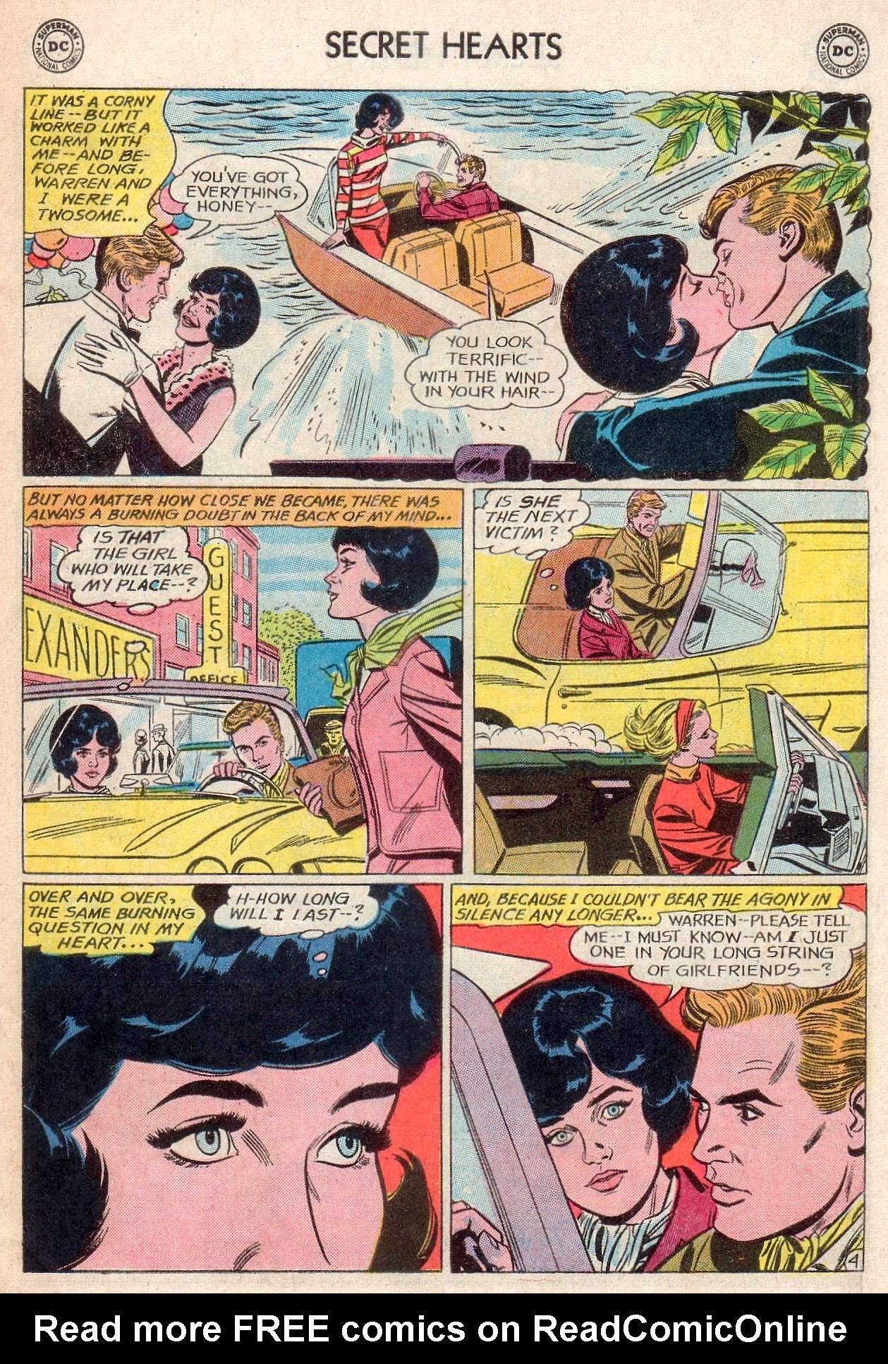 Read online Secret Hearts comic -  Issue #107 - 31