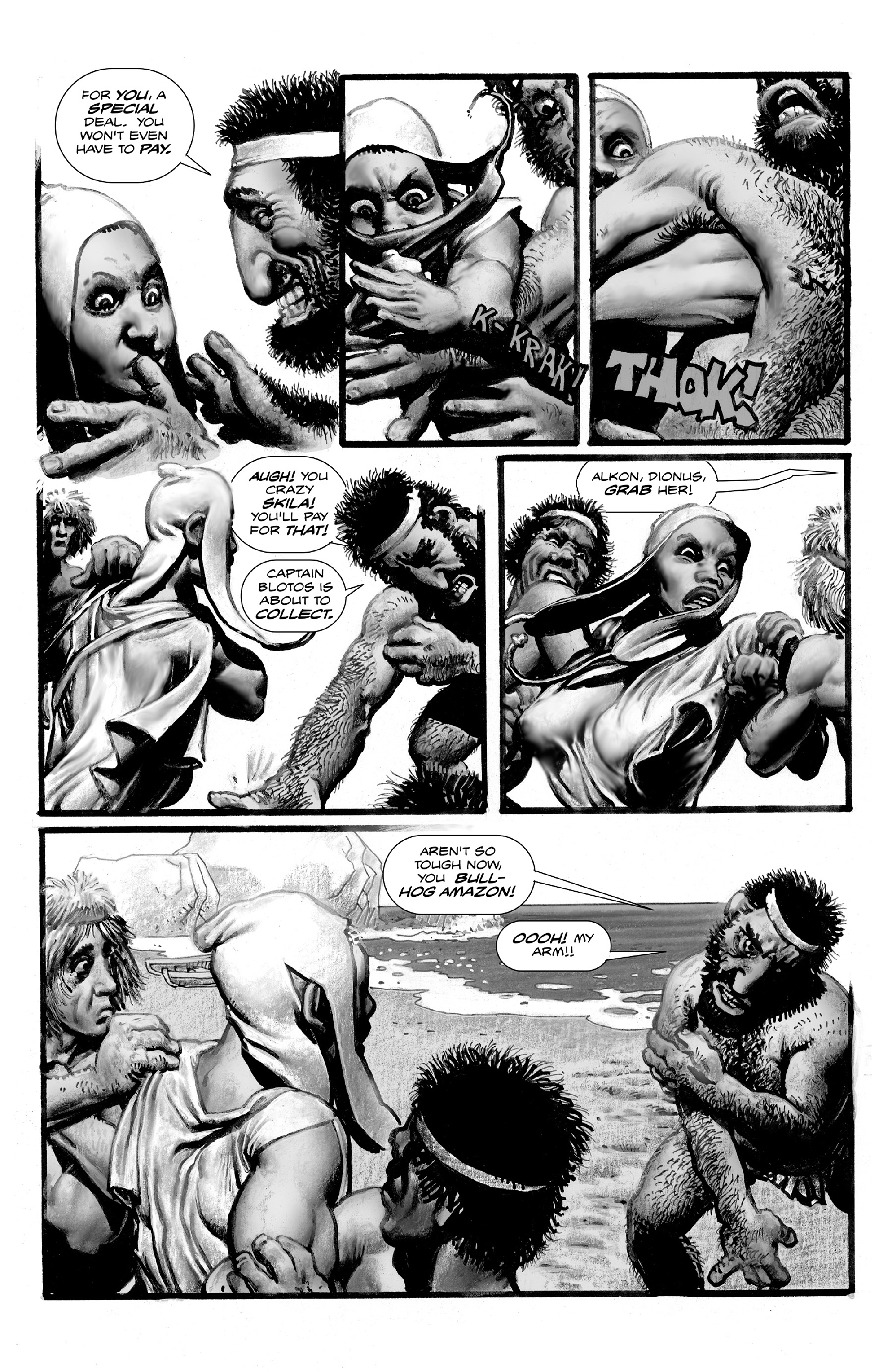 Read online Shadows on the Grave comic -  Issue #3 - 25