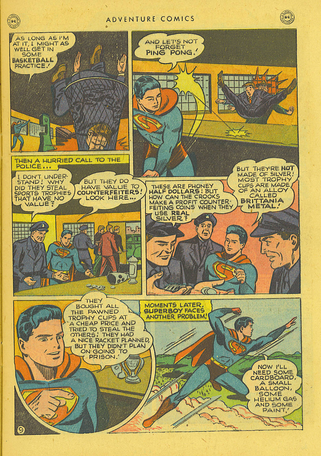 Read online Adventure Comics (1938) comic -  Issue #131 - 10