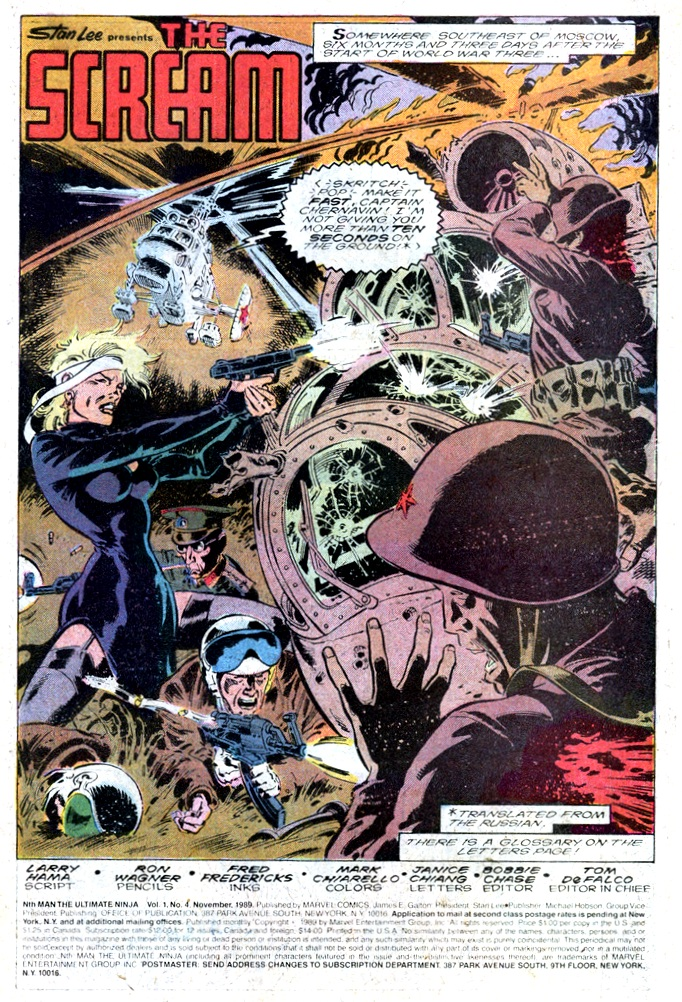 Read online Nth Man the Ultimate Ninja comic -  Issue #4 - 2
