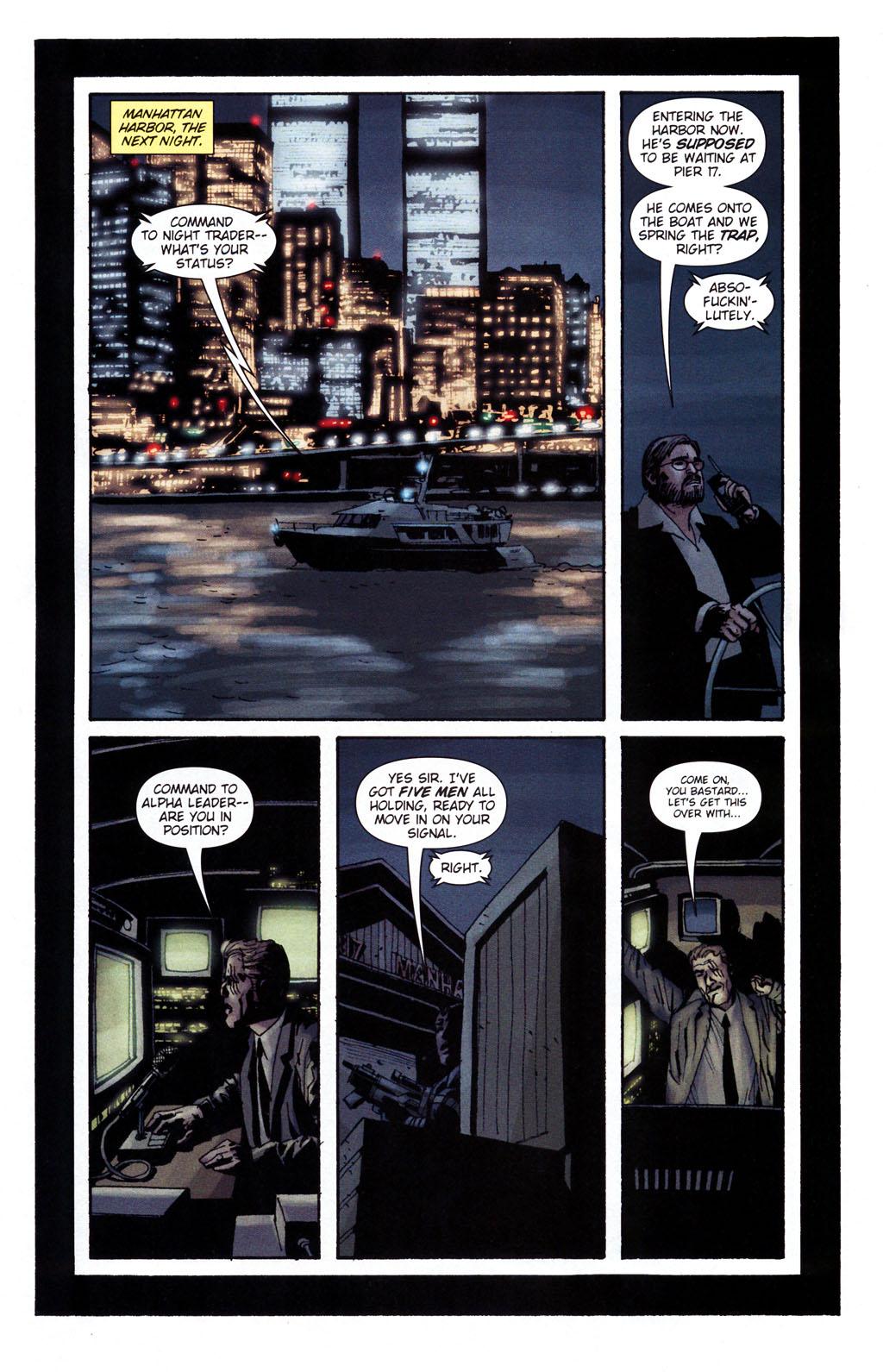 Read online Sleeper: Season Two comic -  Issue #5 - 14