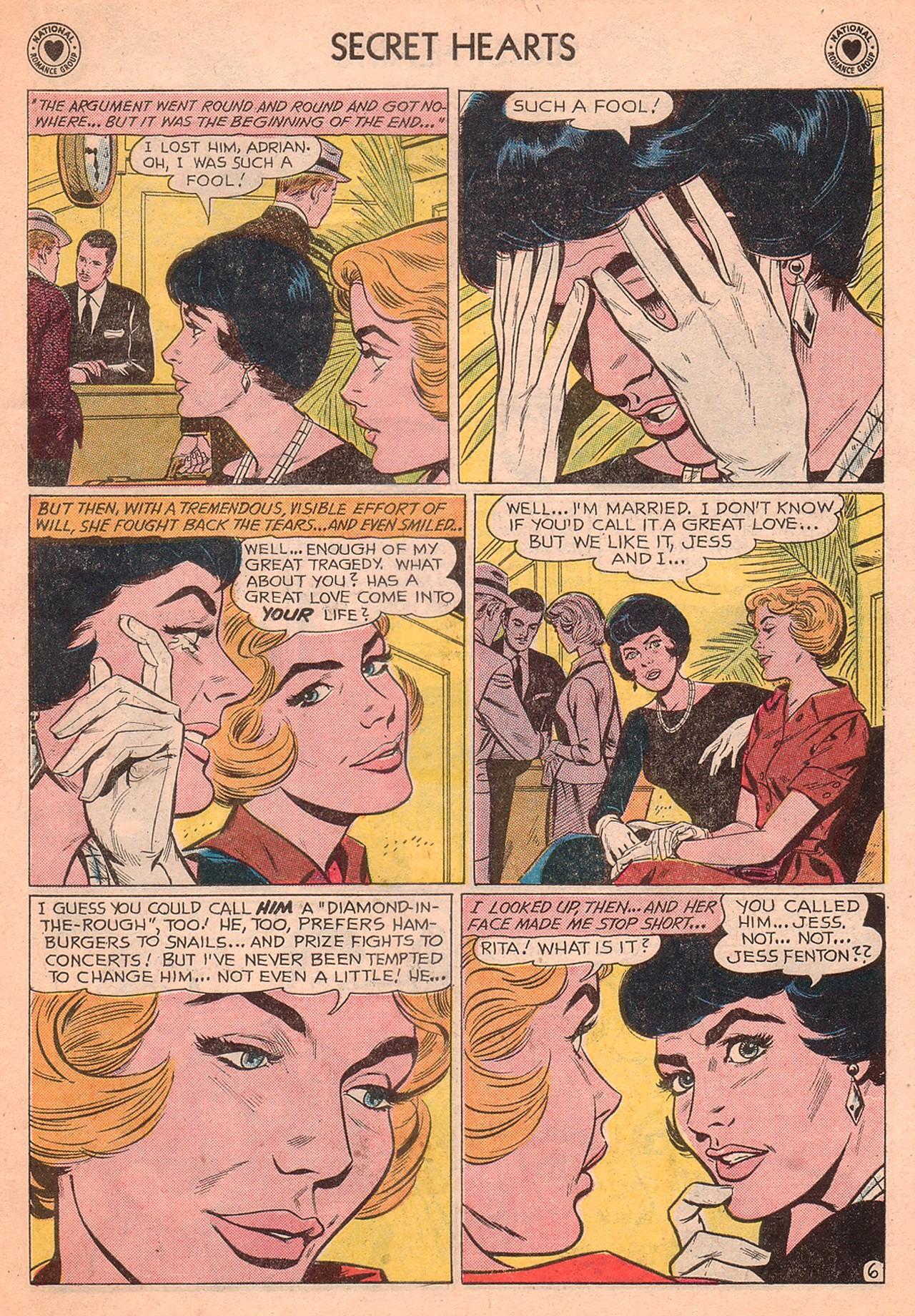 Read online Secret Hearts comic -  Issue #77 - 23