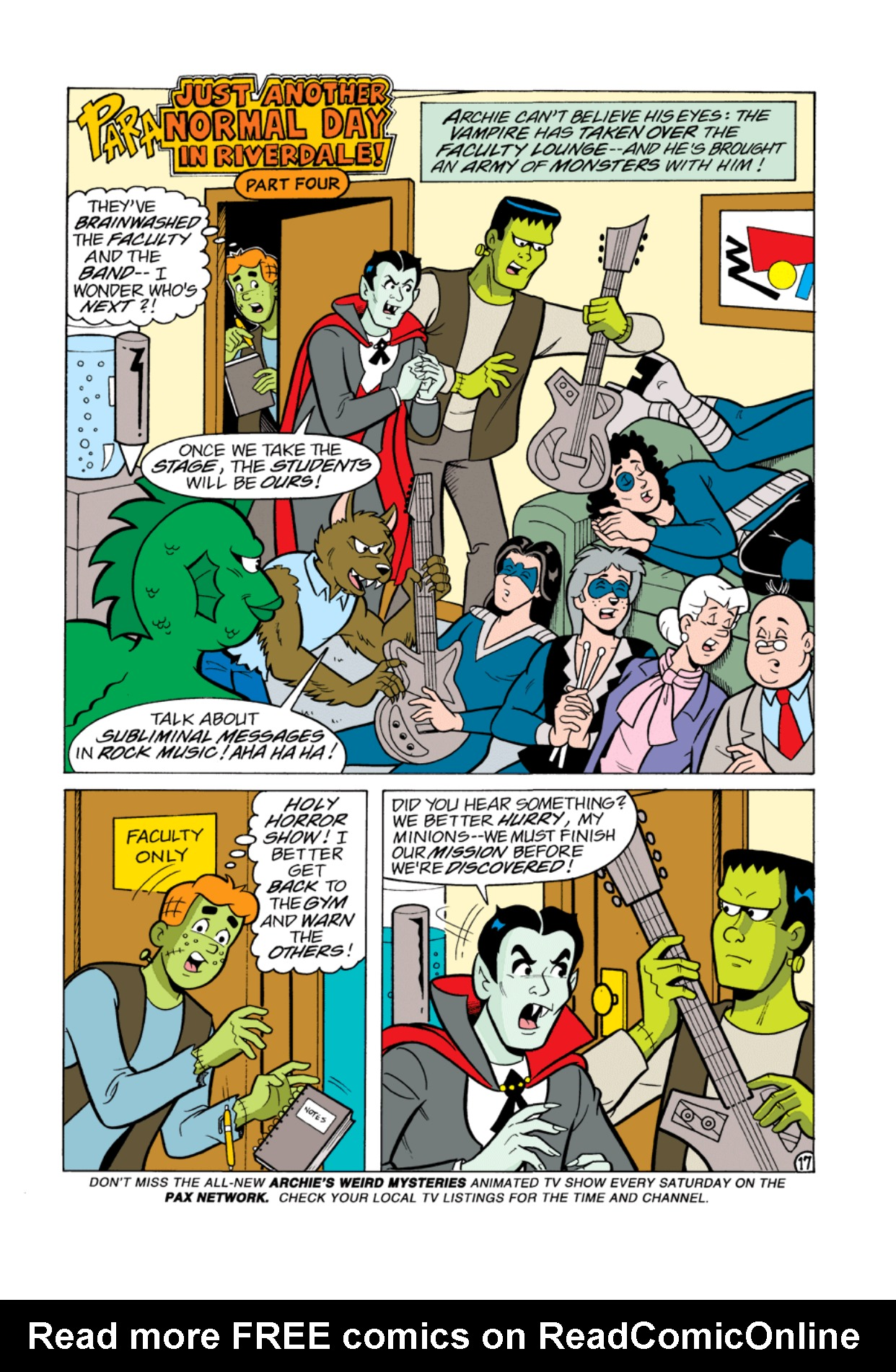 Read online Archie's Weird Mysteries comic -  Issue #1 - 18