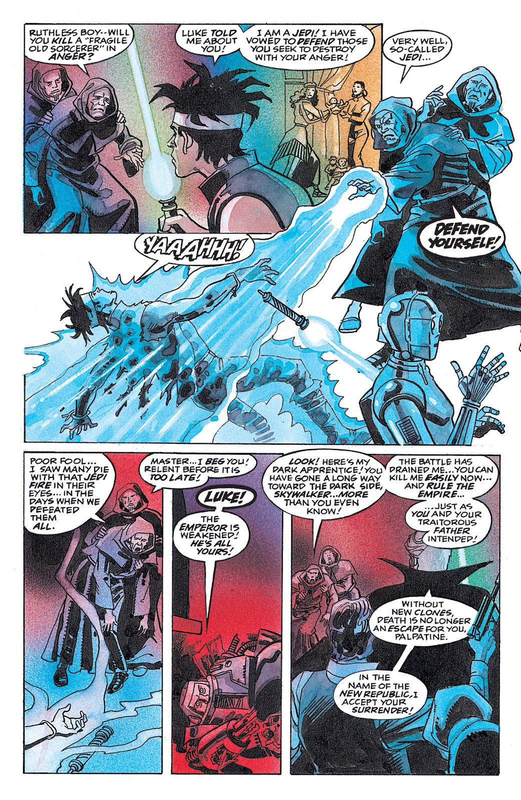 Read online Star Wars: Dark Empire Trilogy comic -  Issue # TPB (Part 4) - 50