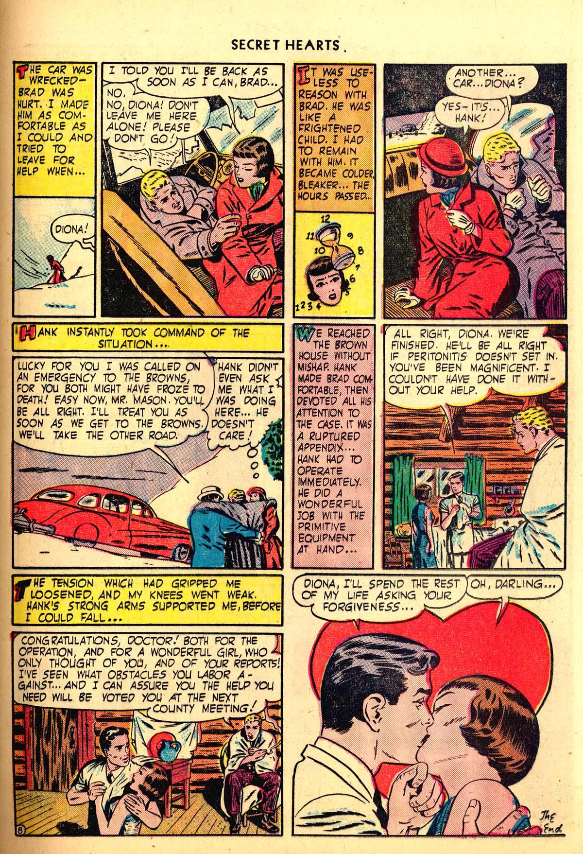 Read online Secret Hearts comic -  Issue #6 - 37
