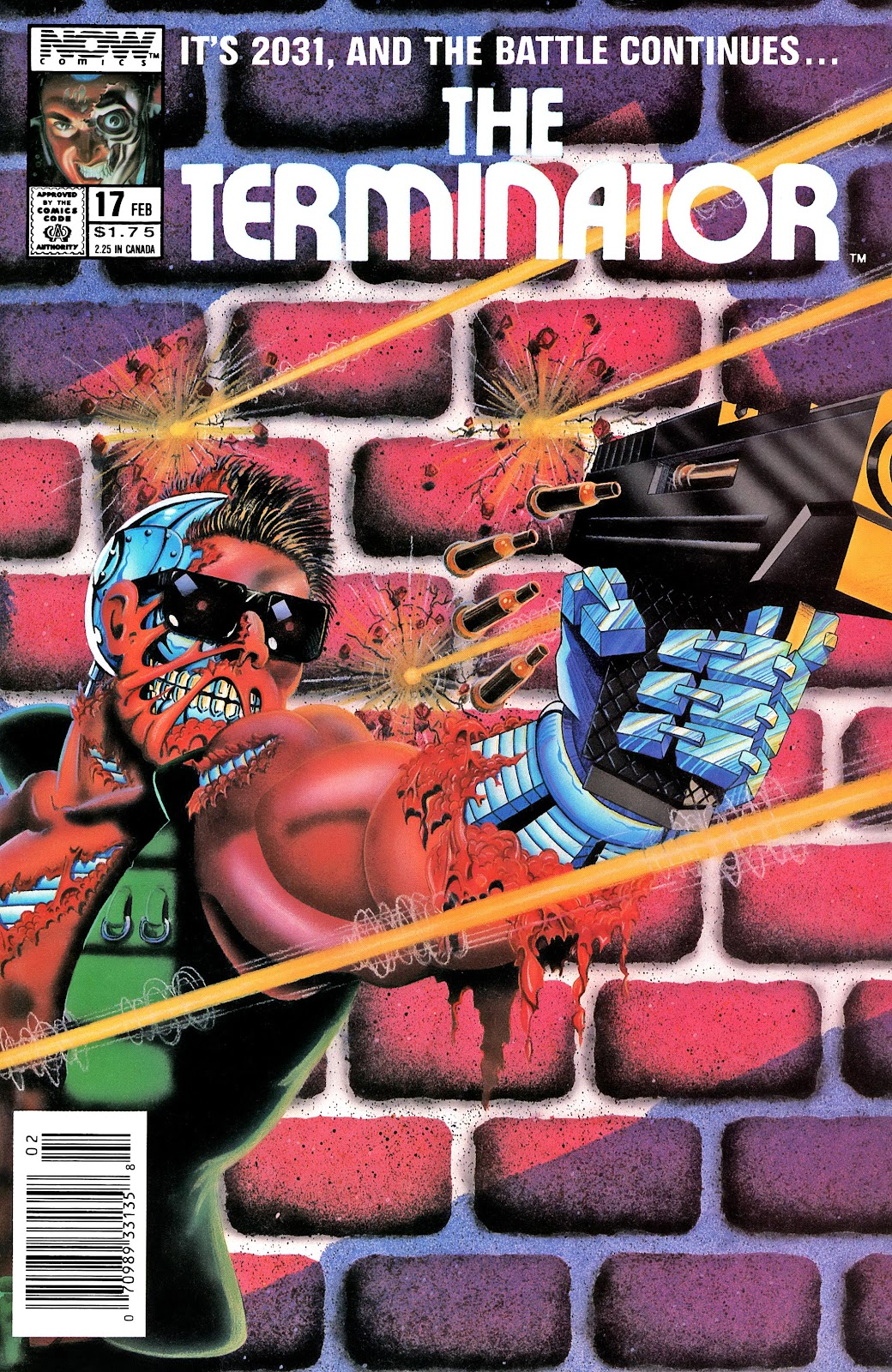 The Terminator (1988) issue 17 - Page 1
