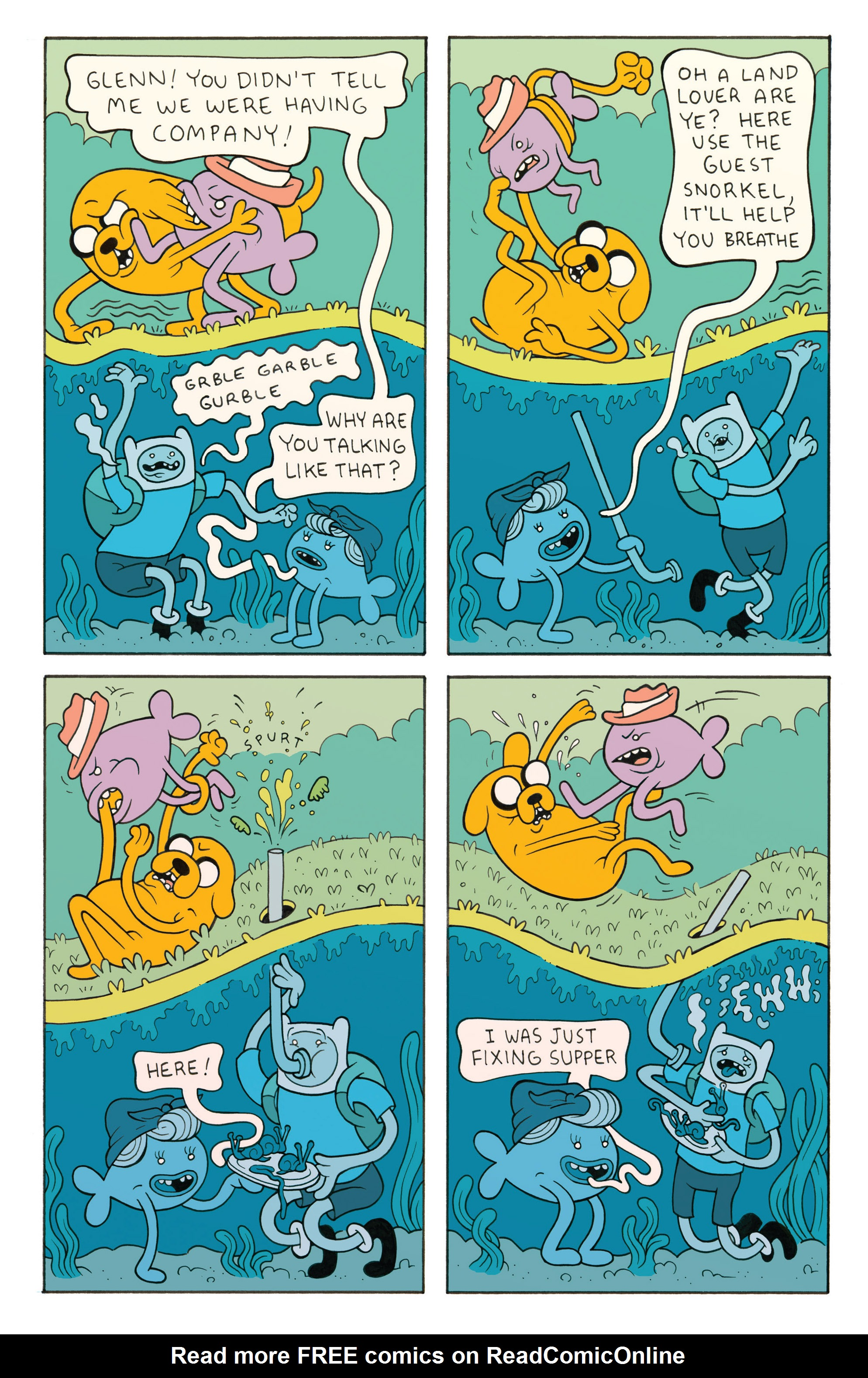 Read online Adventure Time comic -  Issue #26 - 25