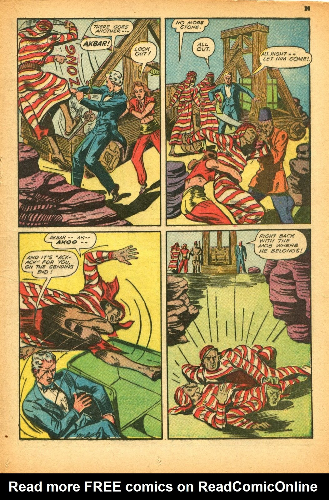 Read online Super-Magician Comics comic -  Issue #12 - 31