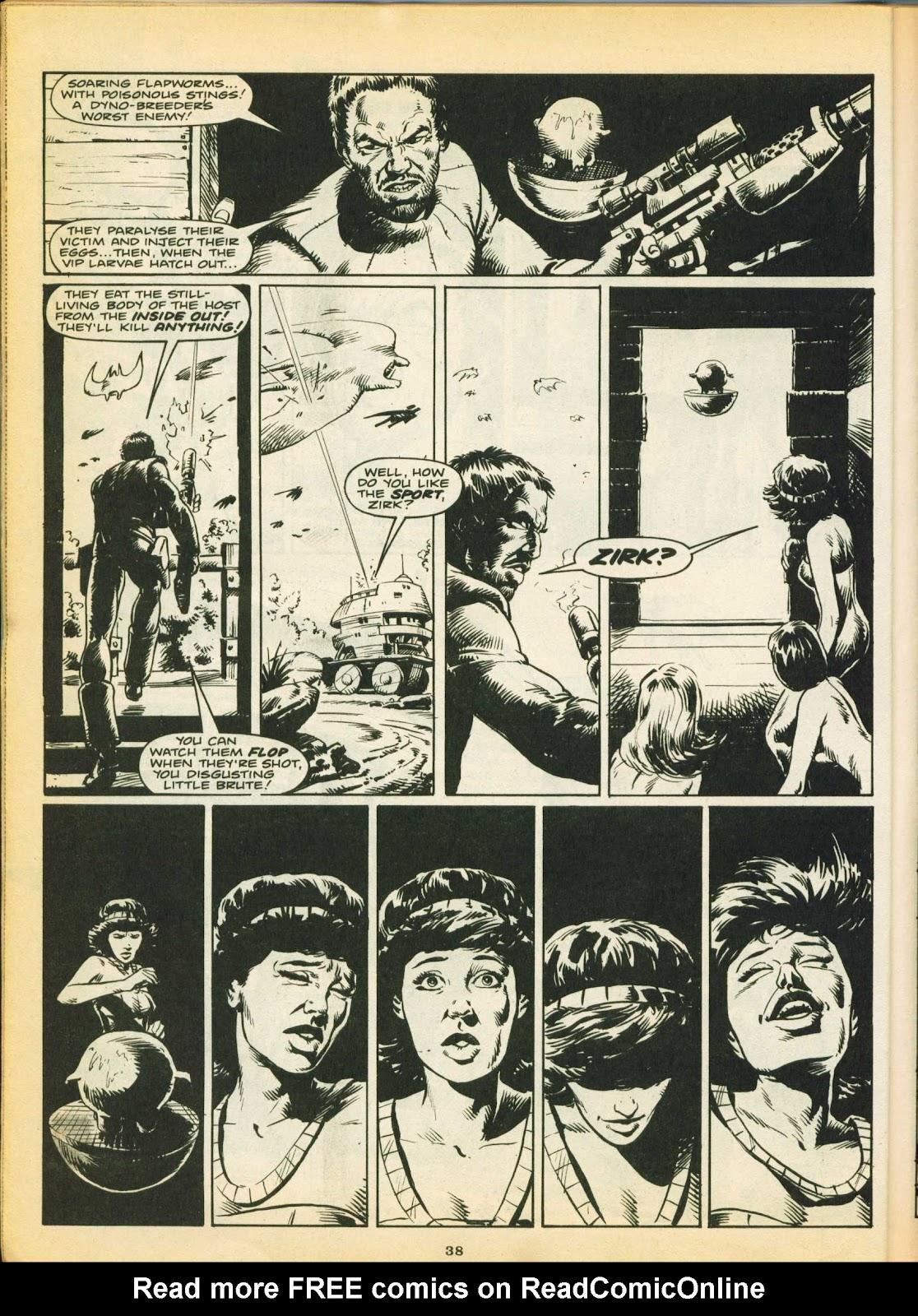 Warrior Issue #5 #6 - English 37