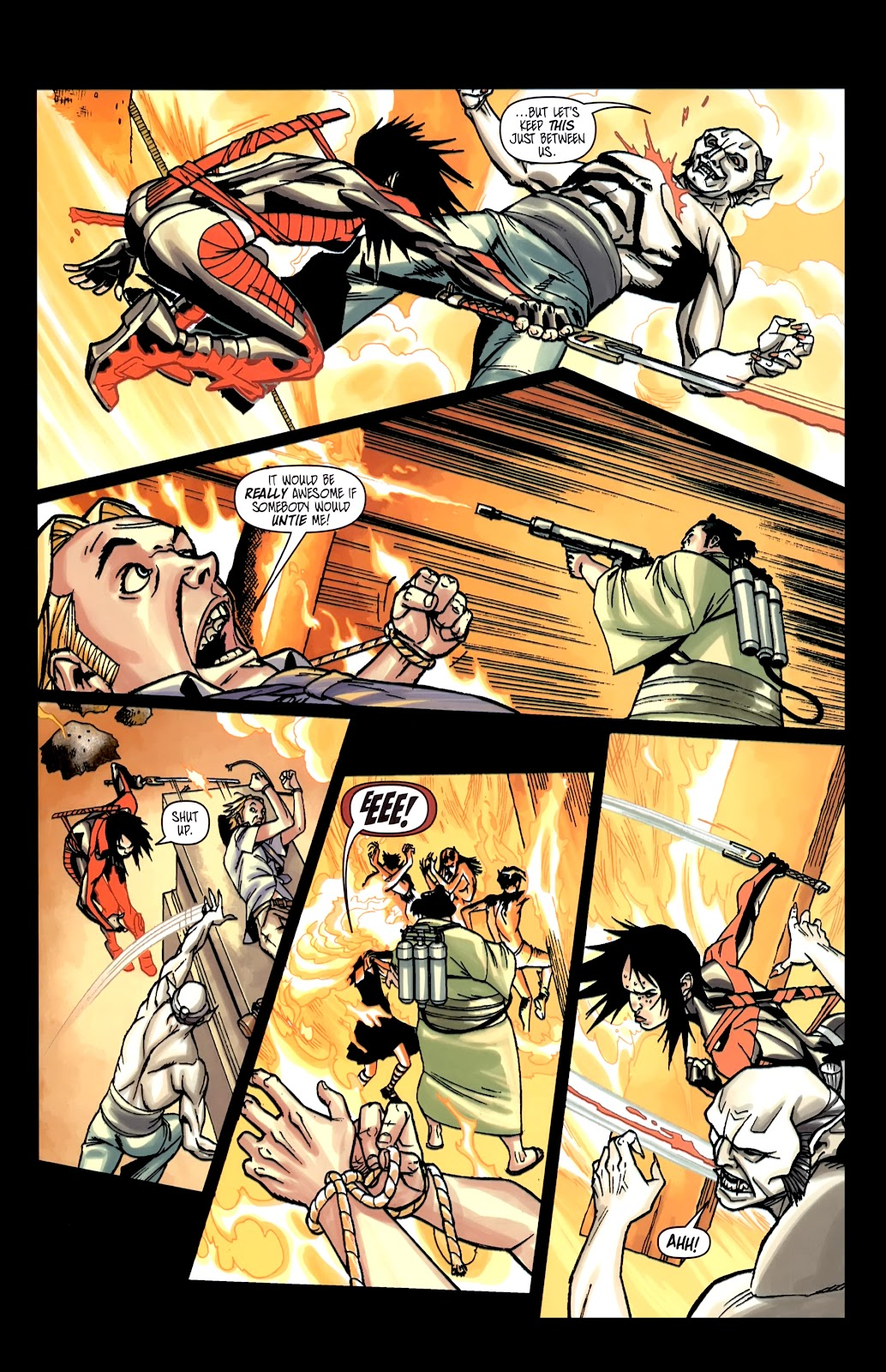 Read online Shinku comic -  Issue #5 - 19