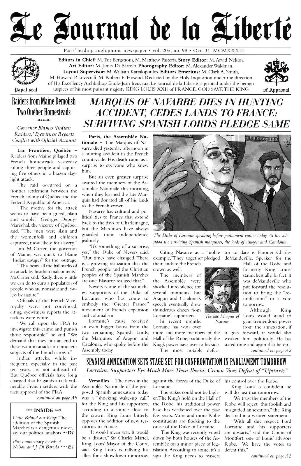 Read online Rex Mundi comic -  Issue #14 - 27