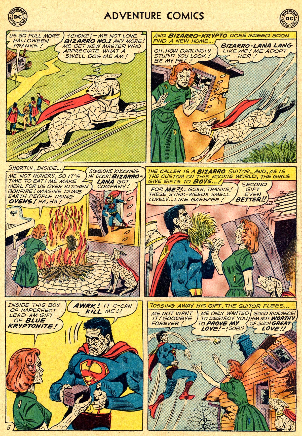 Read online Adventure Comics (1938) comic -  Issue #294 - 23