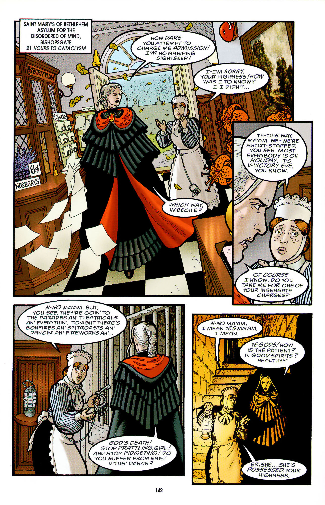 Read online Heart of Empire comic -  Issue #5 - 18