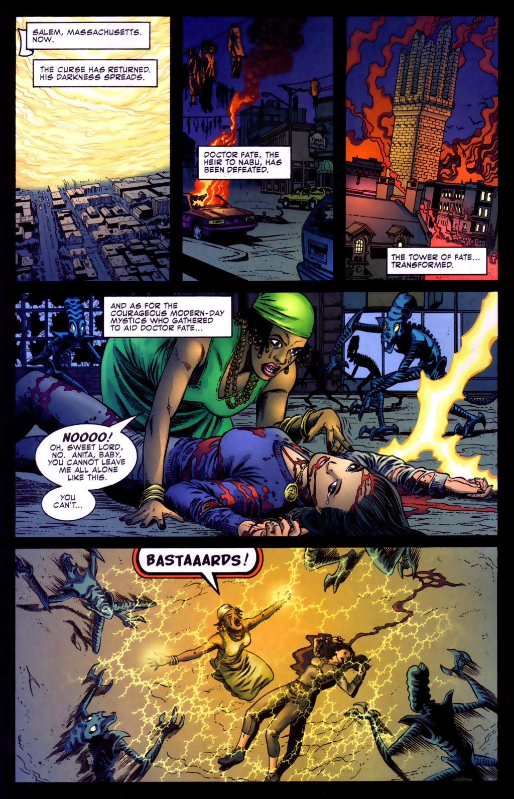 Read online Doctor Fate (2003) comic -  Issue #5 - 4