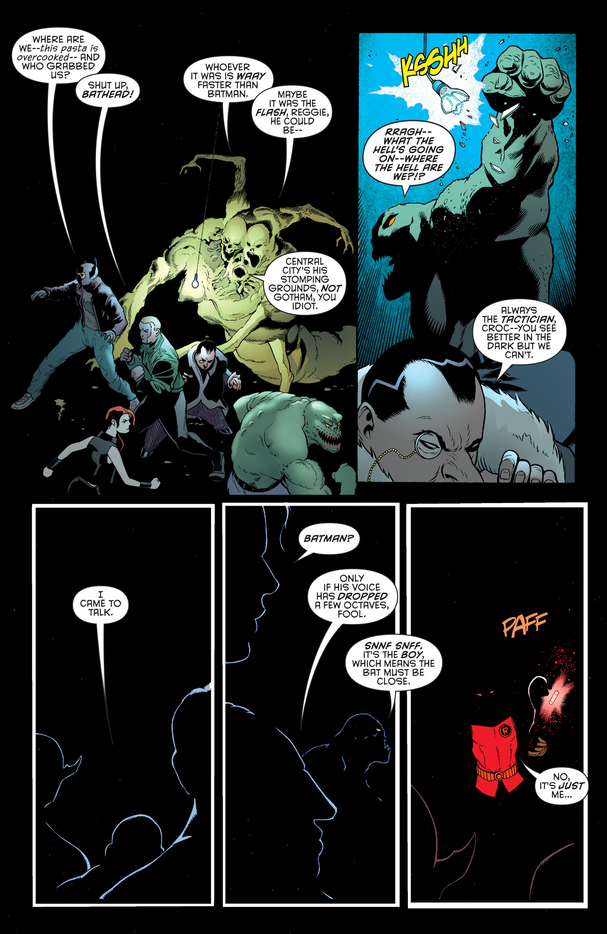 Read online Batman and Robin (2011) comic -  Issue #39 - 3