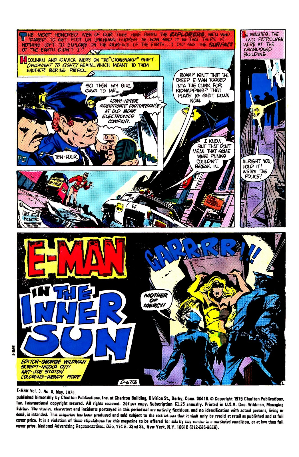 E-Man (1973) issue 8 - Page 3