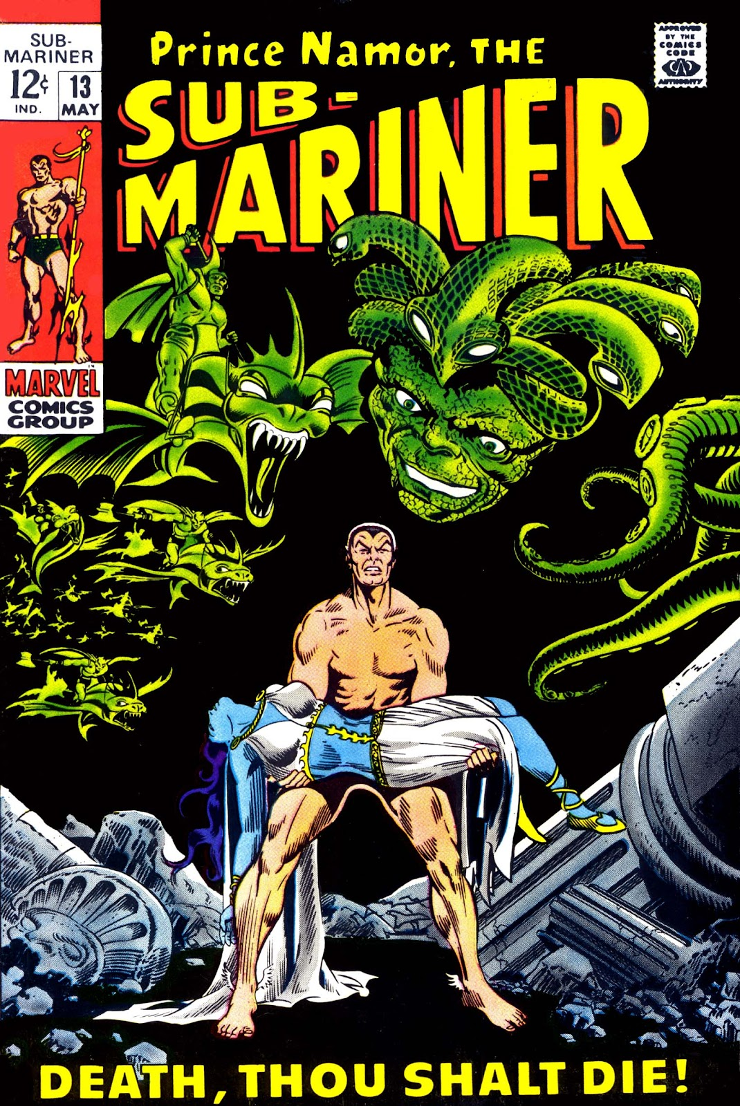 The Sub-Mariner 13 Page 1