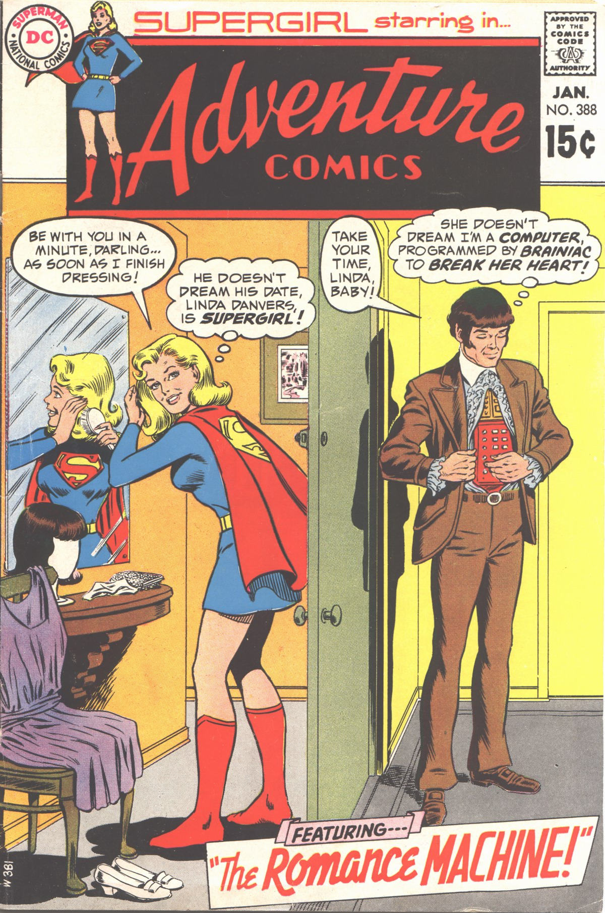 Adventure Comics (1938) 388 Page 1