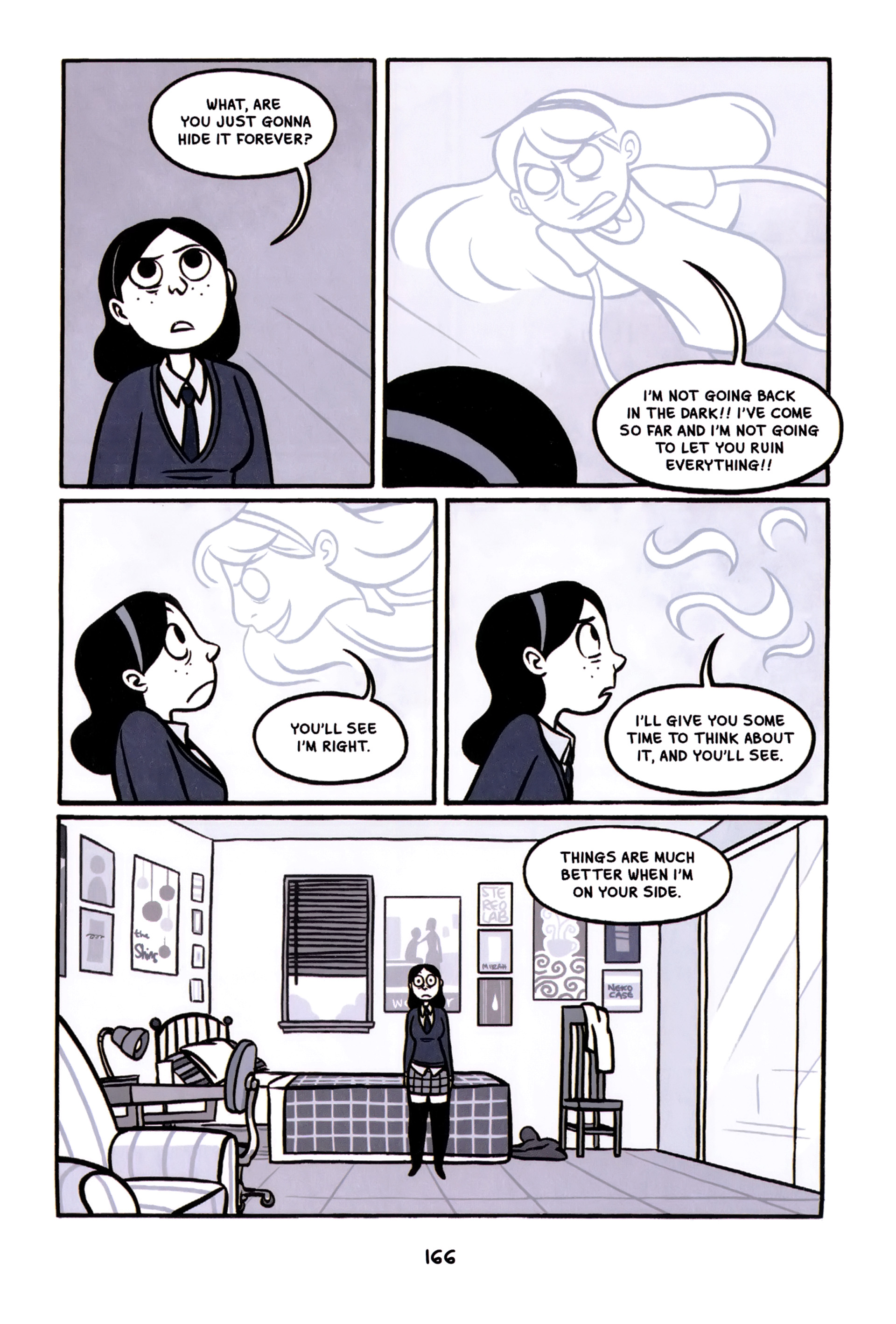 Read online Anya's Ghost comic -  Issue #1 - 167