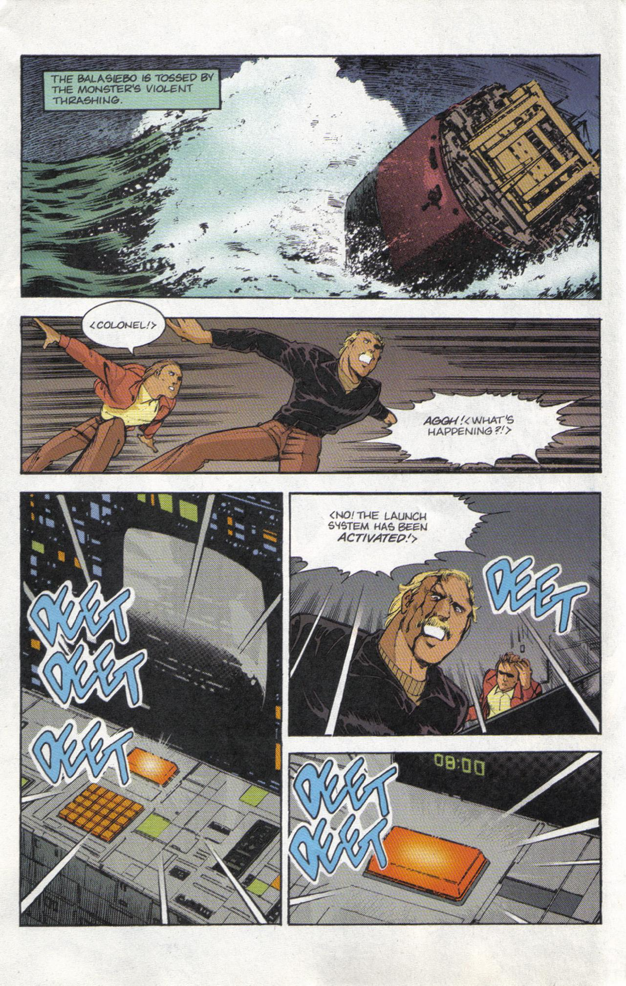 Read online Dark Horse Classics: Terror of Godzilla comic -  Issue #3 - 17