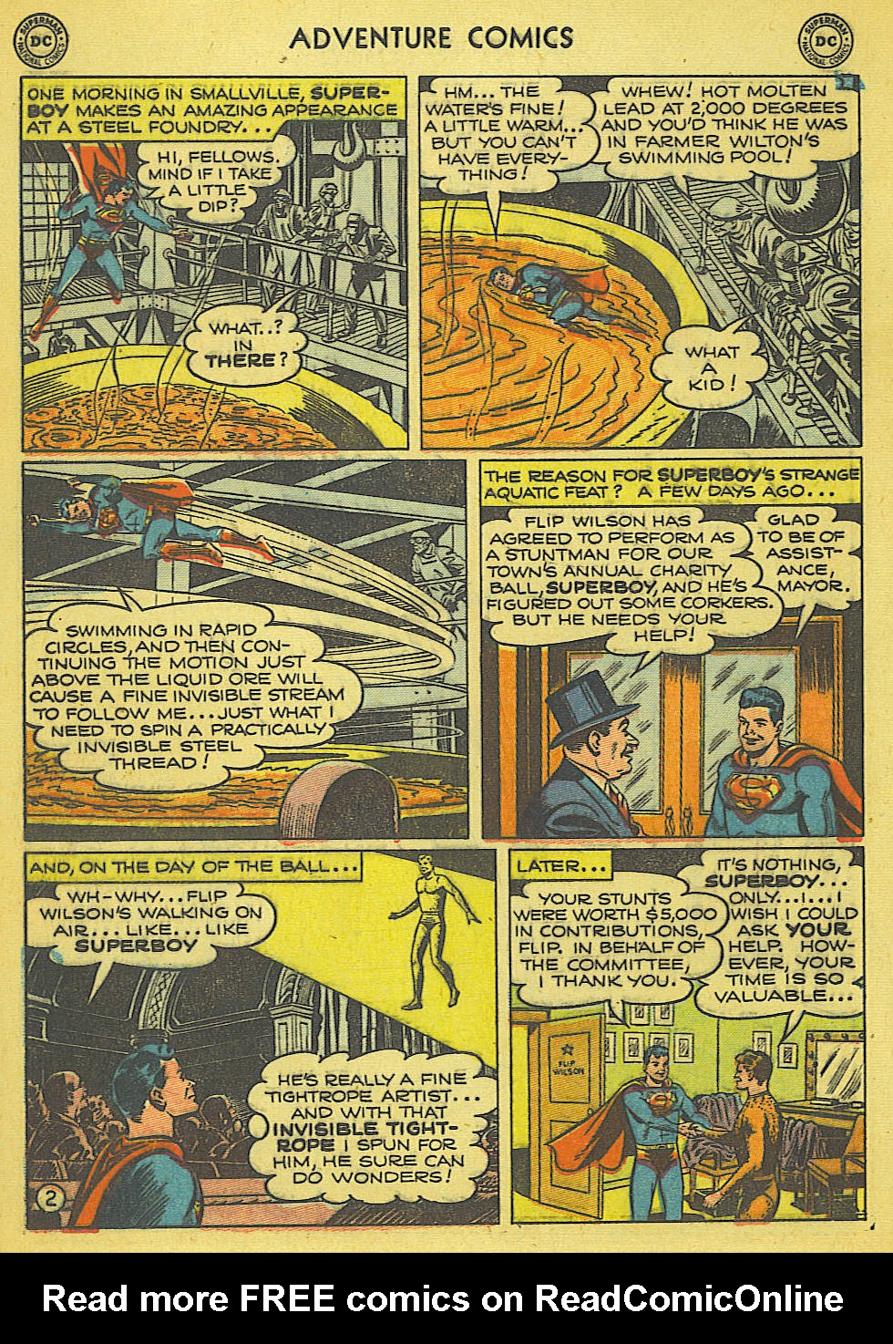 Read online Adventure Comics (1938) comic -  Issue #165 - 3