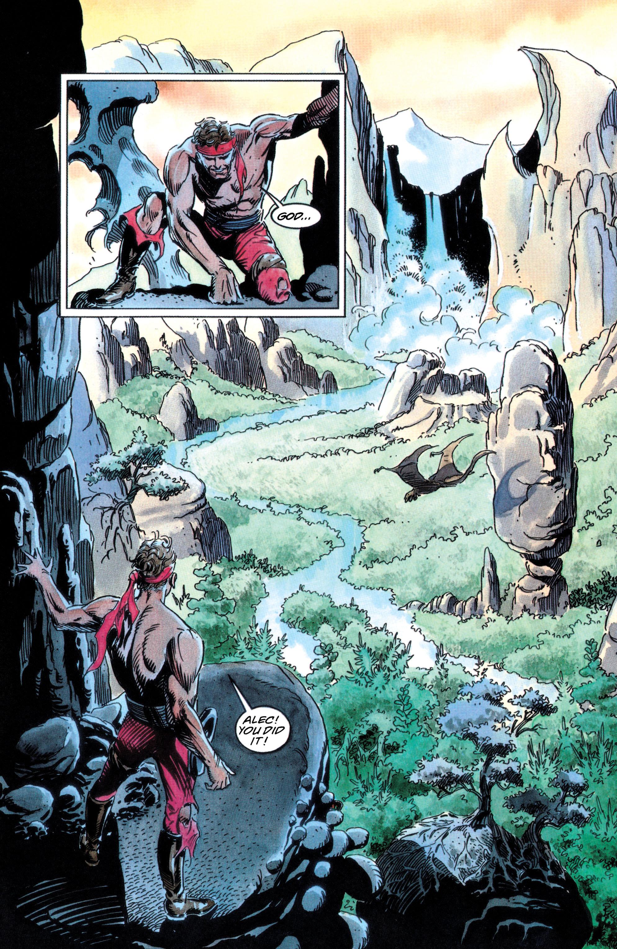 Read online Adam Strange (1990) comic -  Issue #2 - 20