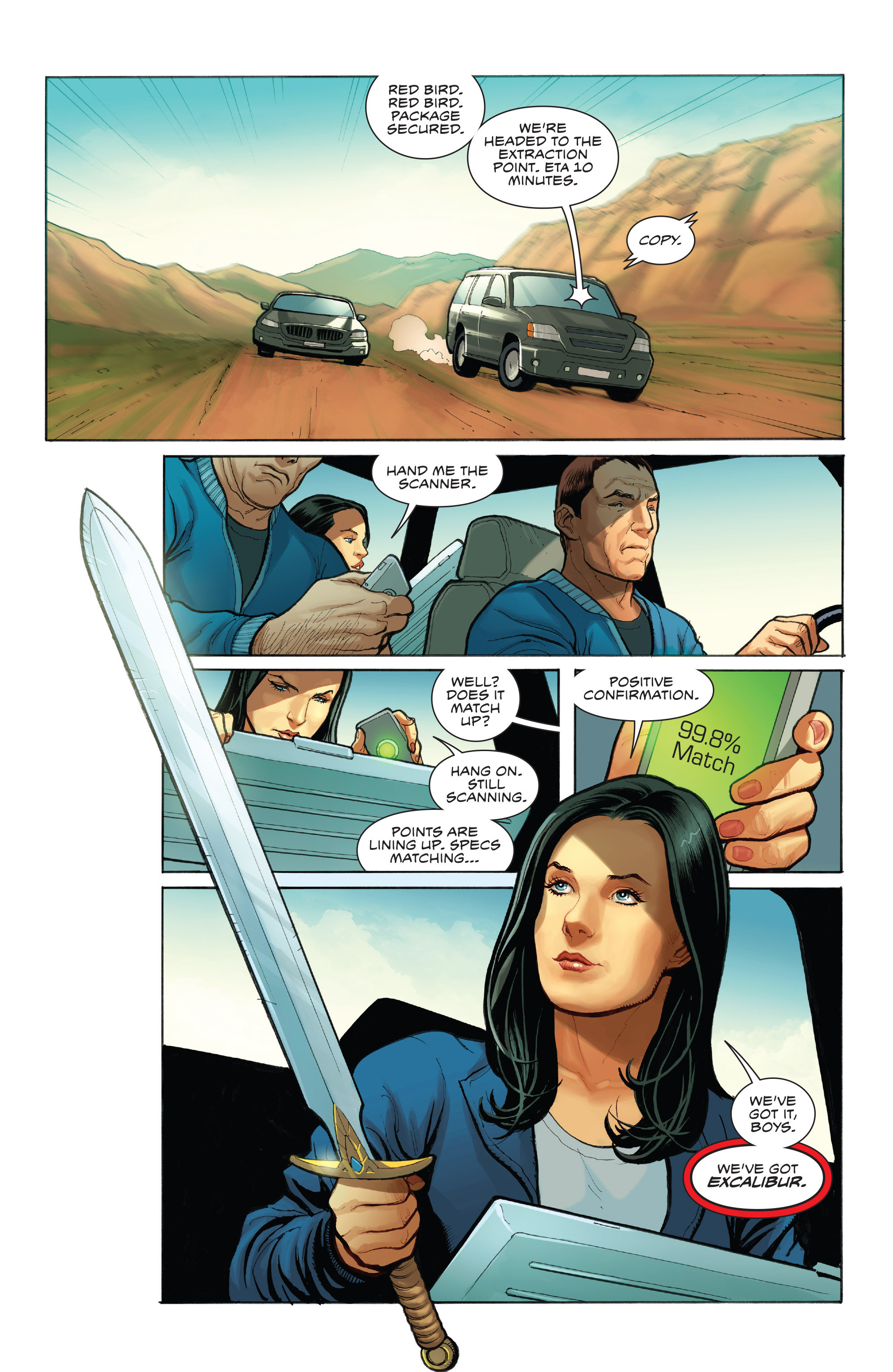Read online Skybourne comic -  Issue #1 - 18