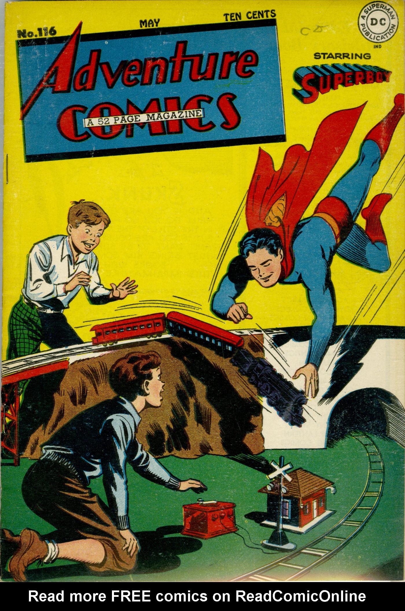 Read online Adventure Comics (1938) comic -  Issue #116 - 2