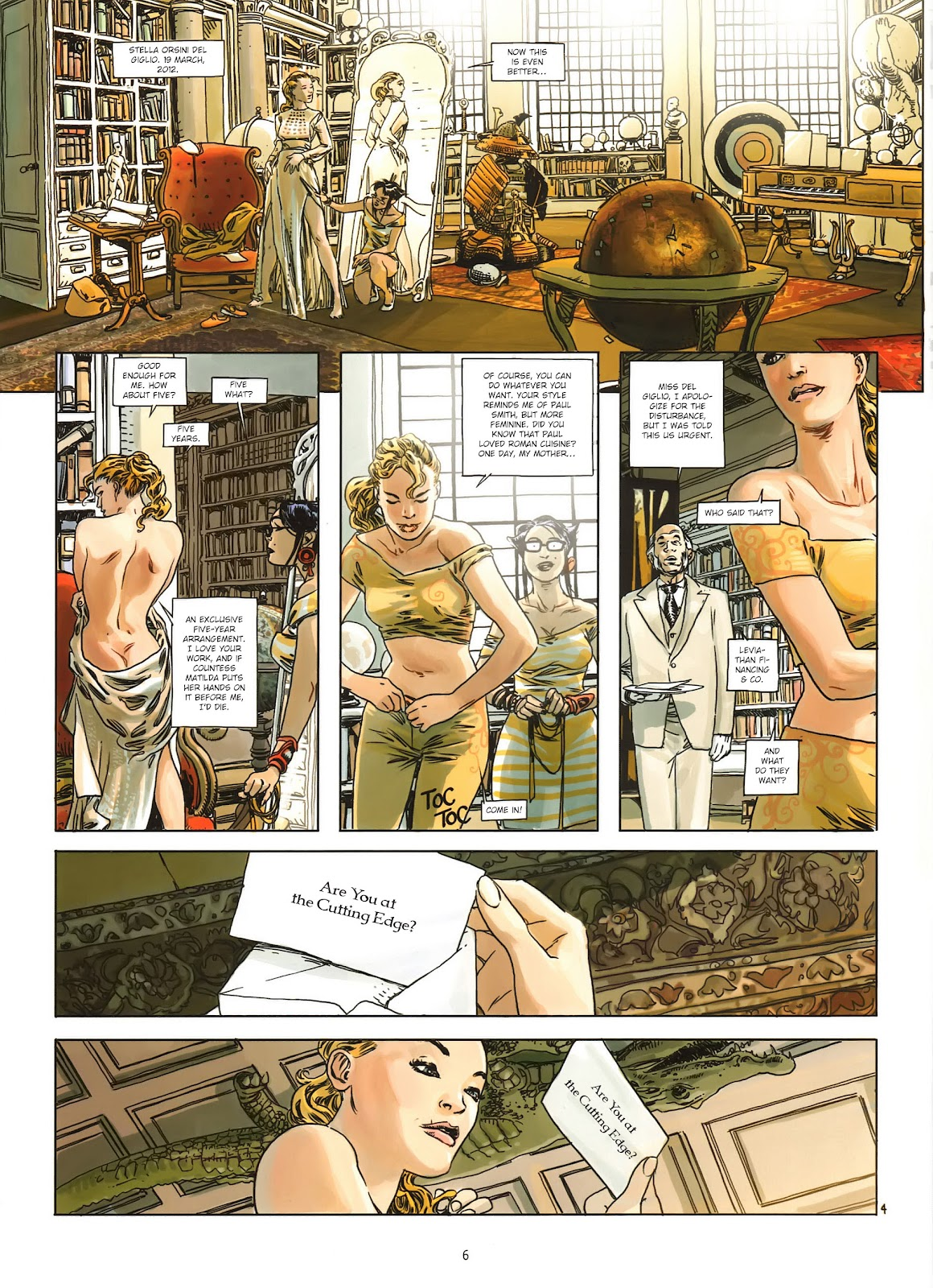 Read online Cutting Edge (2013) comic -  Issue #1 - 7