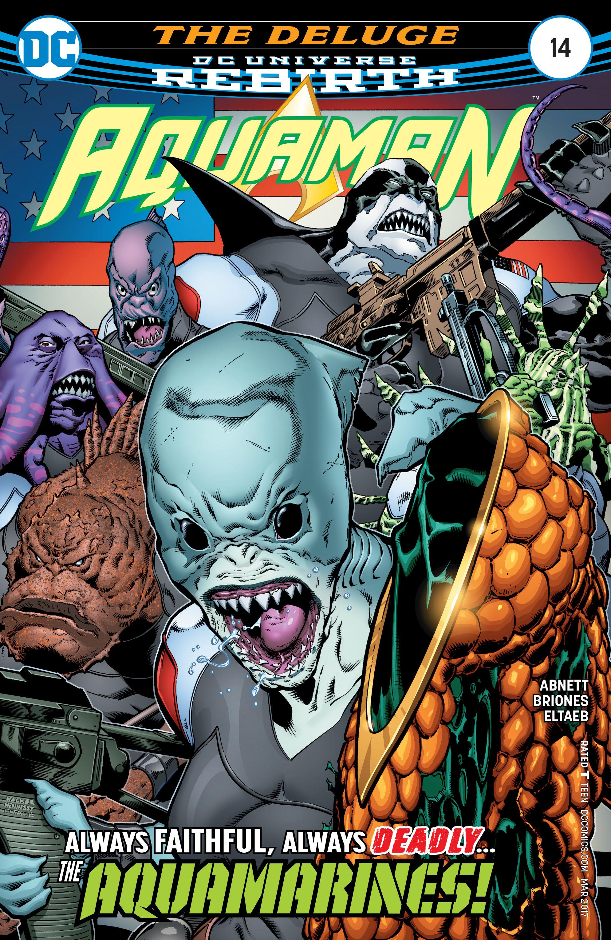 Aquaman (2016) issue 14 - Page 1