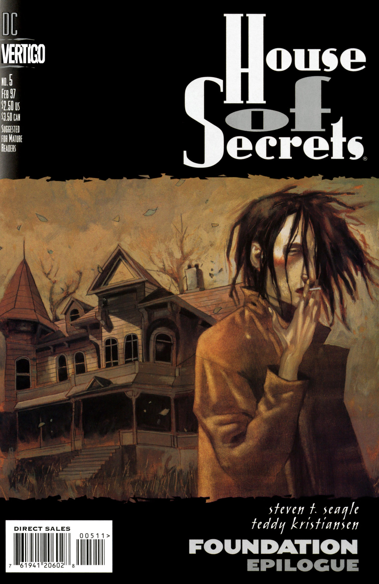 House of Secrets (1996) issue 5 - Page 1