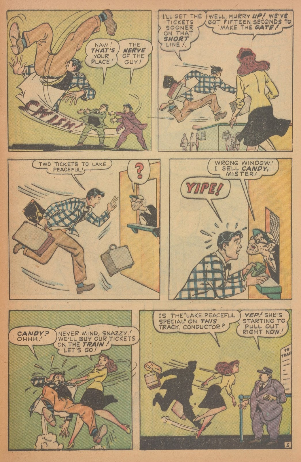 Read online Nellie The Nurse (1945) comic -  Issue #18 - 45
