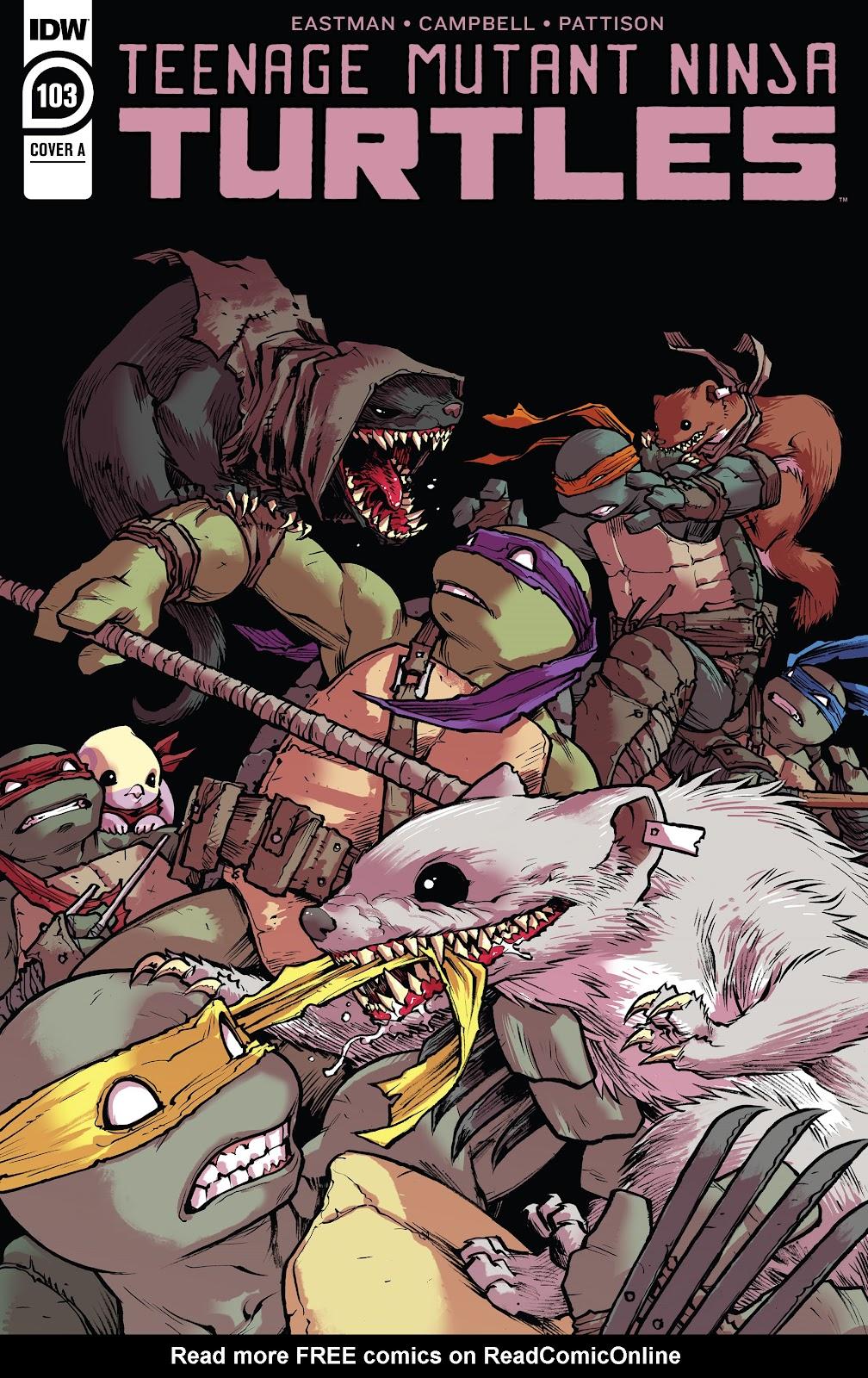 Read online Teenage Mutant Ninja Turtles (2011) comic -  Issue #103 - 1