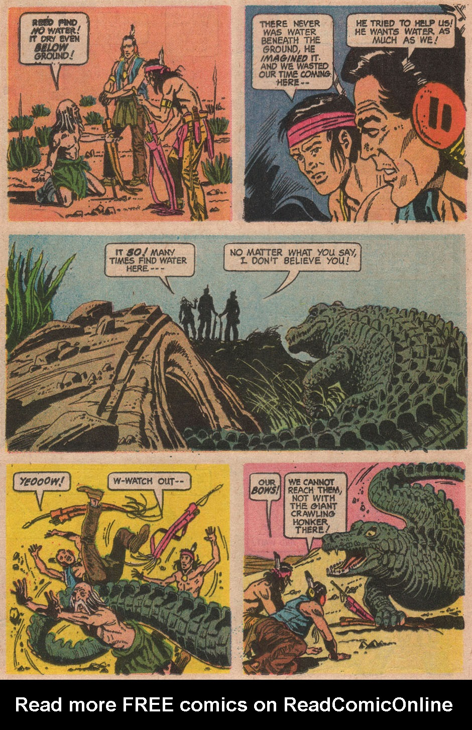 Read online Turok, Son of Stone comic -  Issue #63 - 24