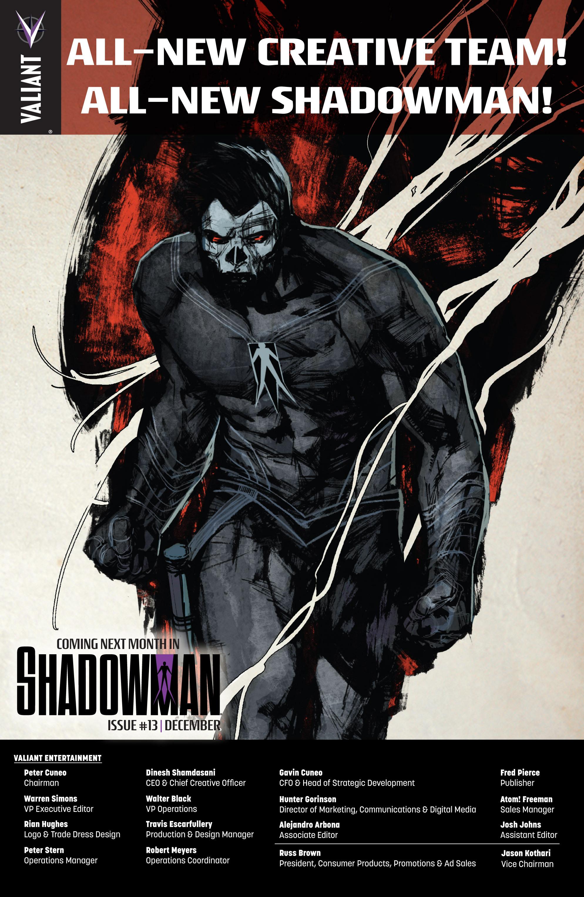 Read online Shadowman (2012) comic -  Issue #12 - 29