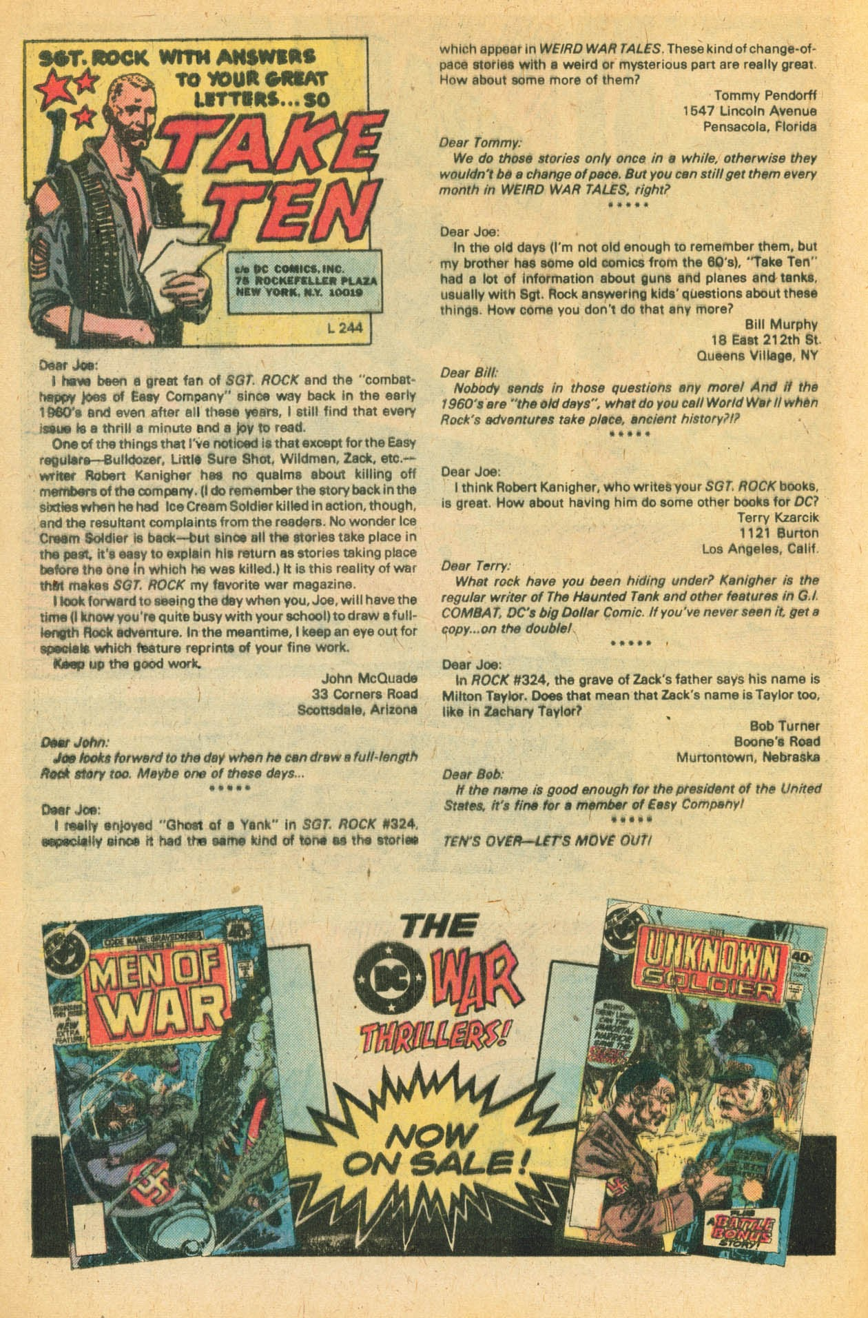 Read online Sgt. Rock comic -  Issue #329 - 32