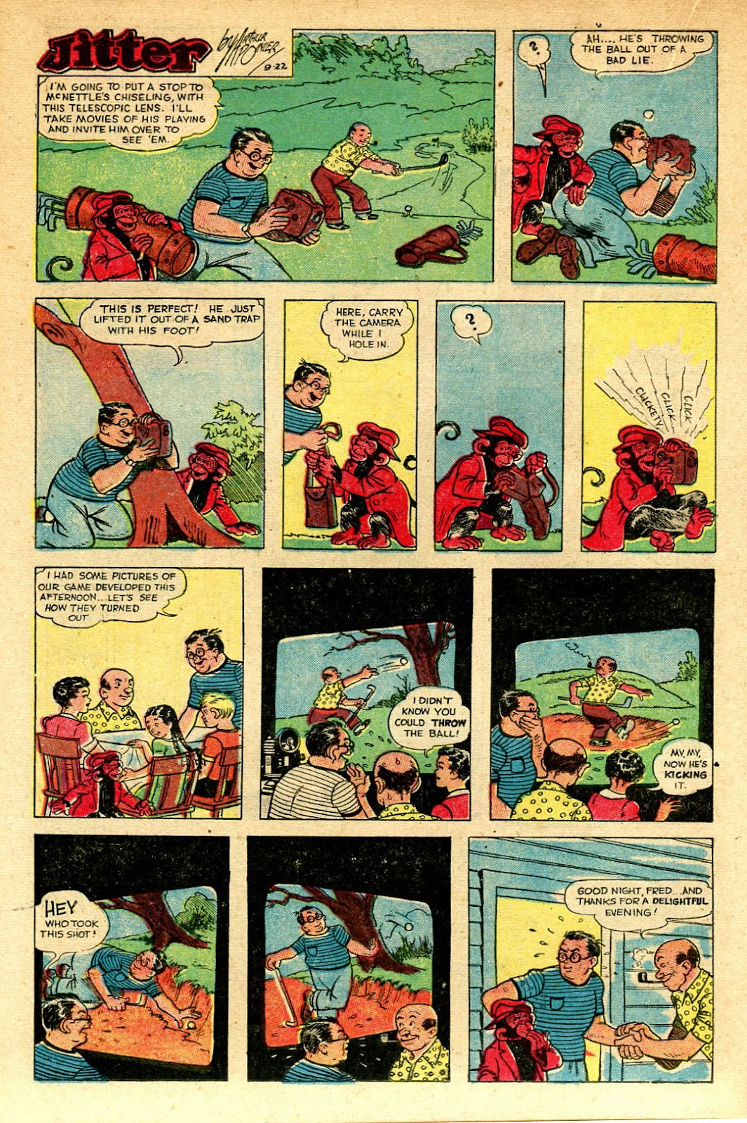 Read online Famous Funnies comic -  Issue #129 - 20