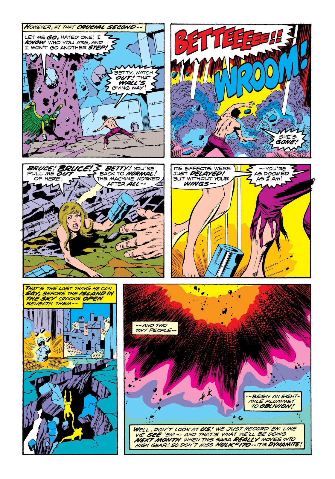 Read online Marvel Masterworks: The Incredible Hulk comic -  Issue # TPB 9 (Part 3) - 76