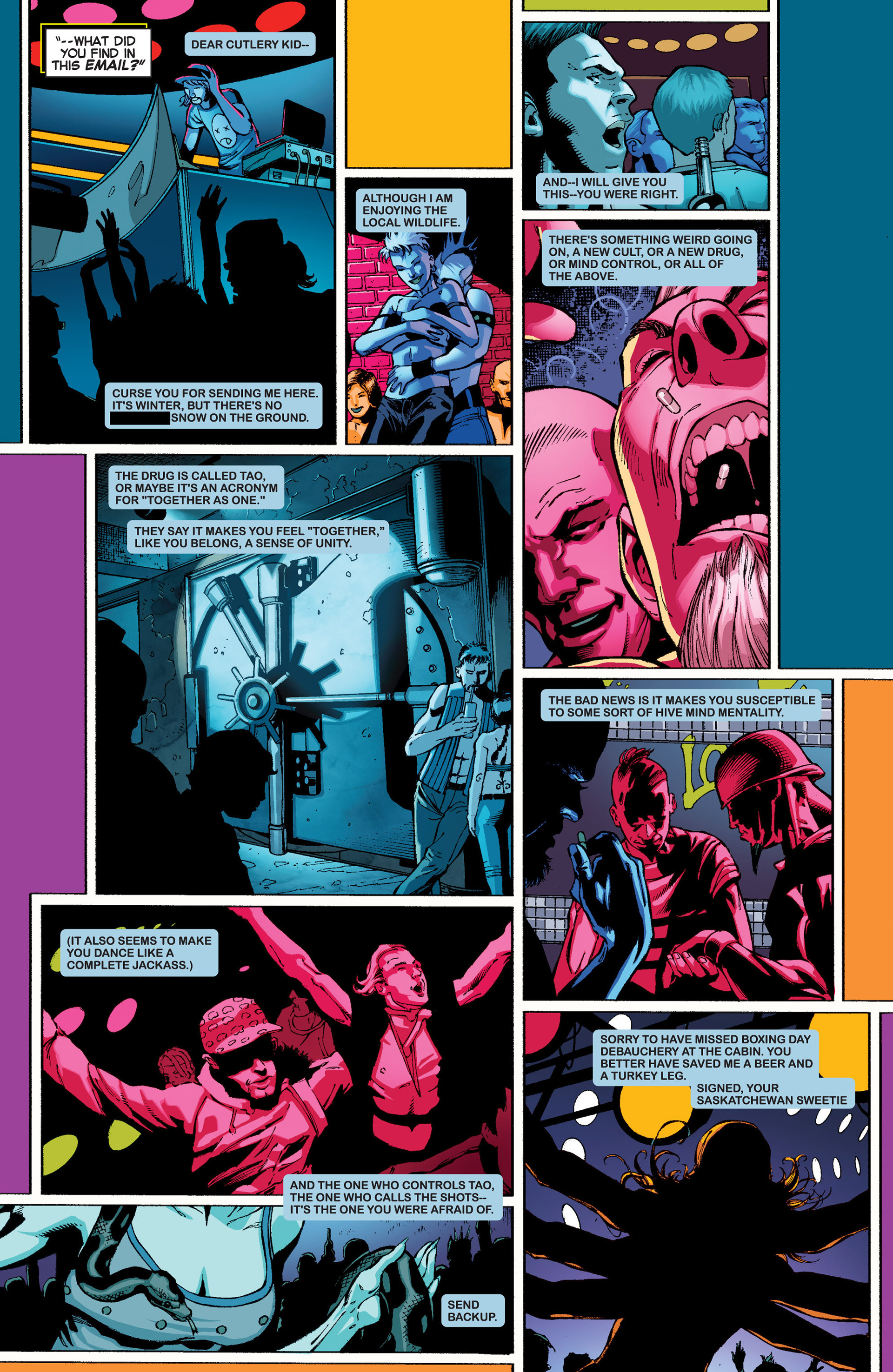 Read online Uncanny X-Force (2013) comic -  Issue #1 - 7