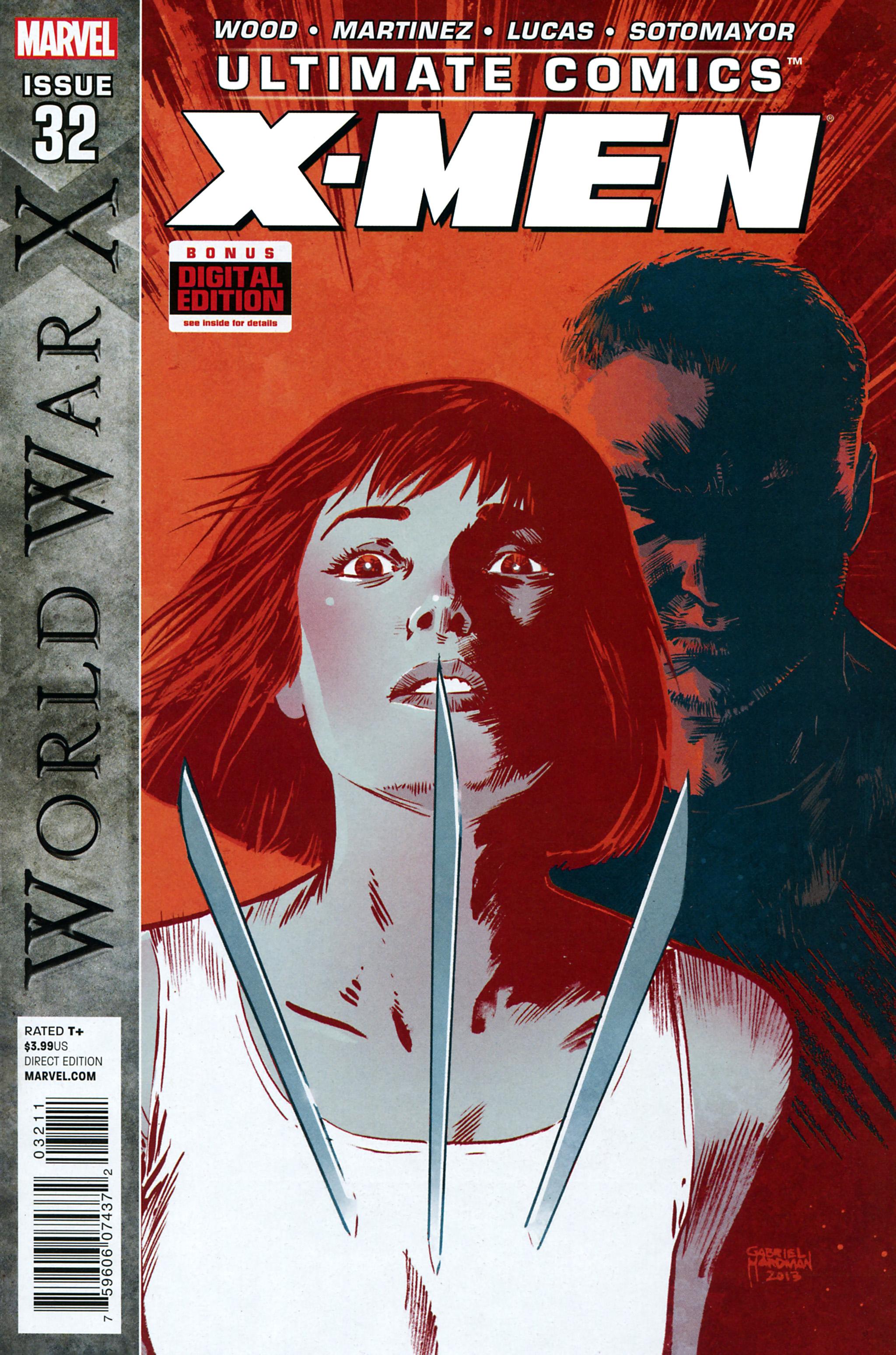 Read online Ultimate Comics X-Men comic -  Issue #32 - 1