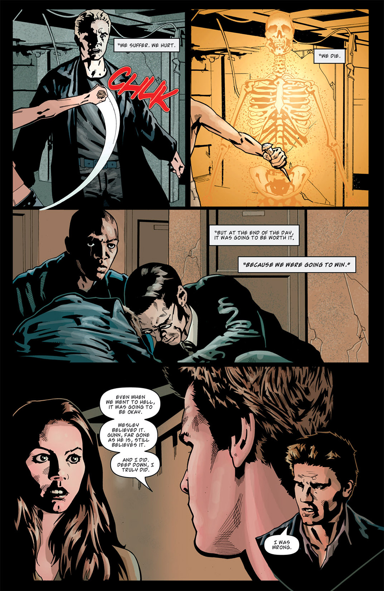 Read online Angel: After The Fall comic -  Issue #13 - 14