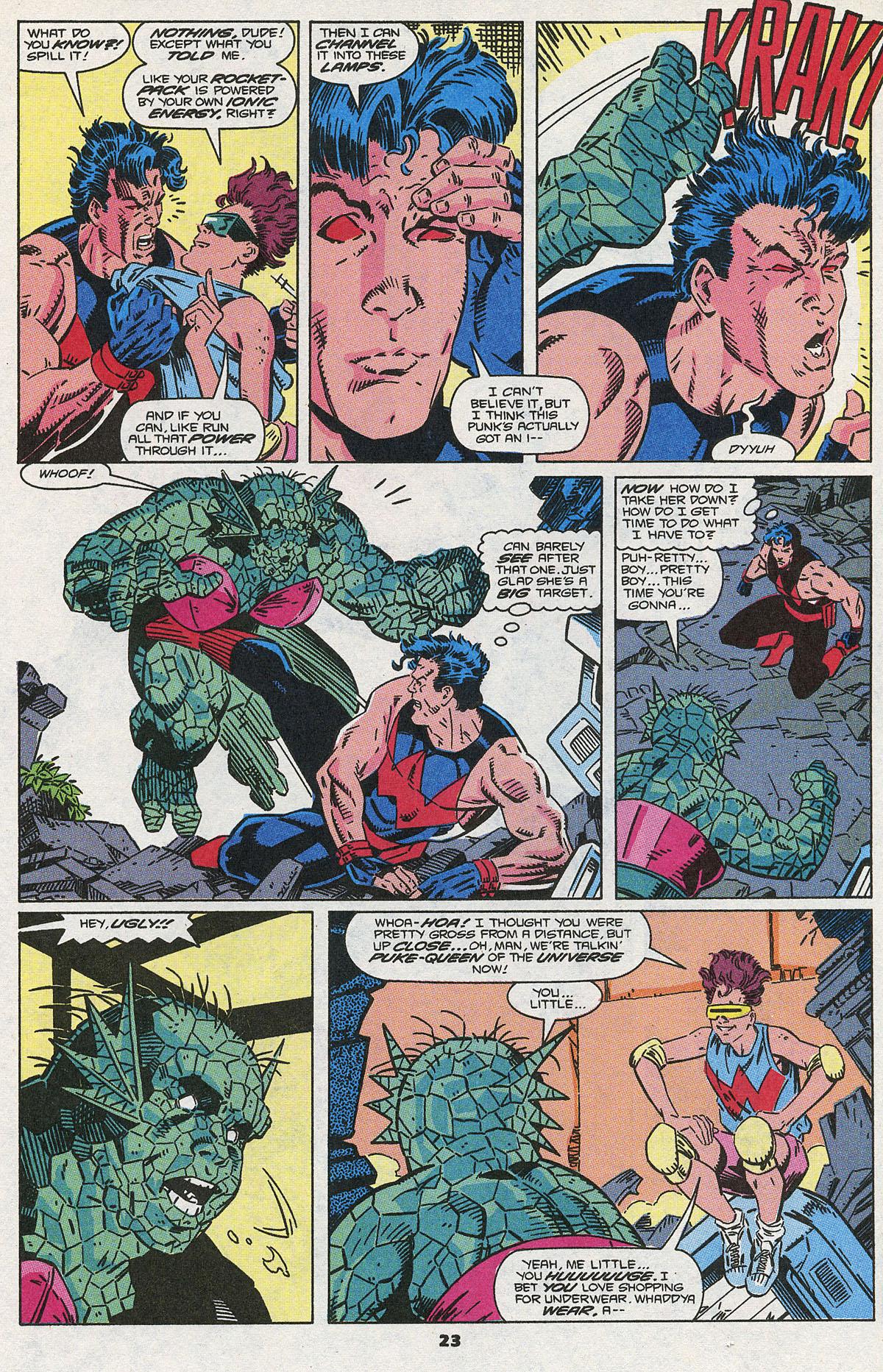 Read online Wonder Man (1991) comic -  Issue #3 - 18