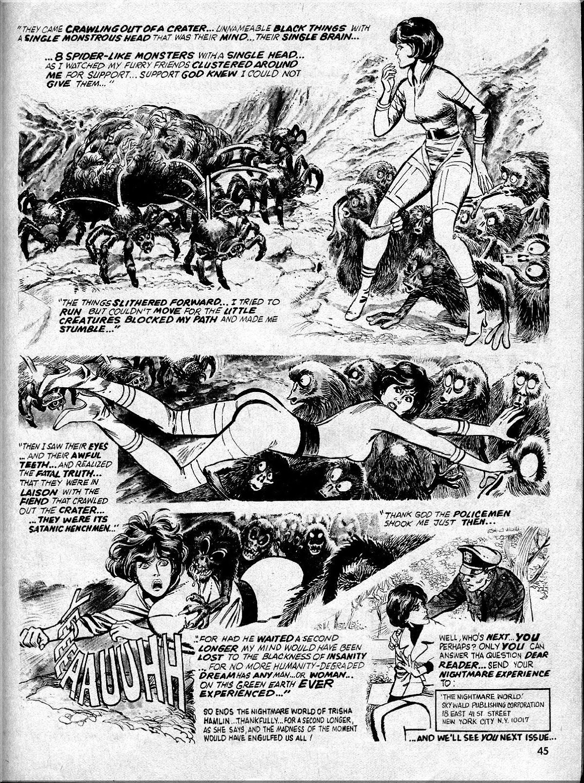 Nightmare (1970) issue 10 - Page 45
