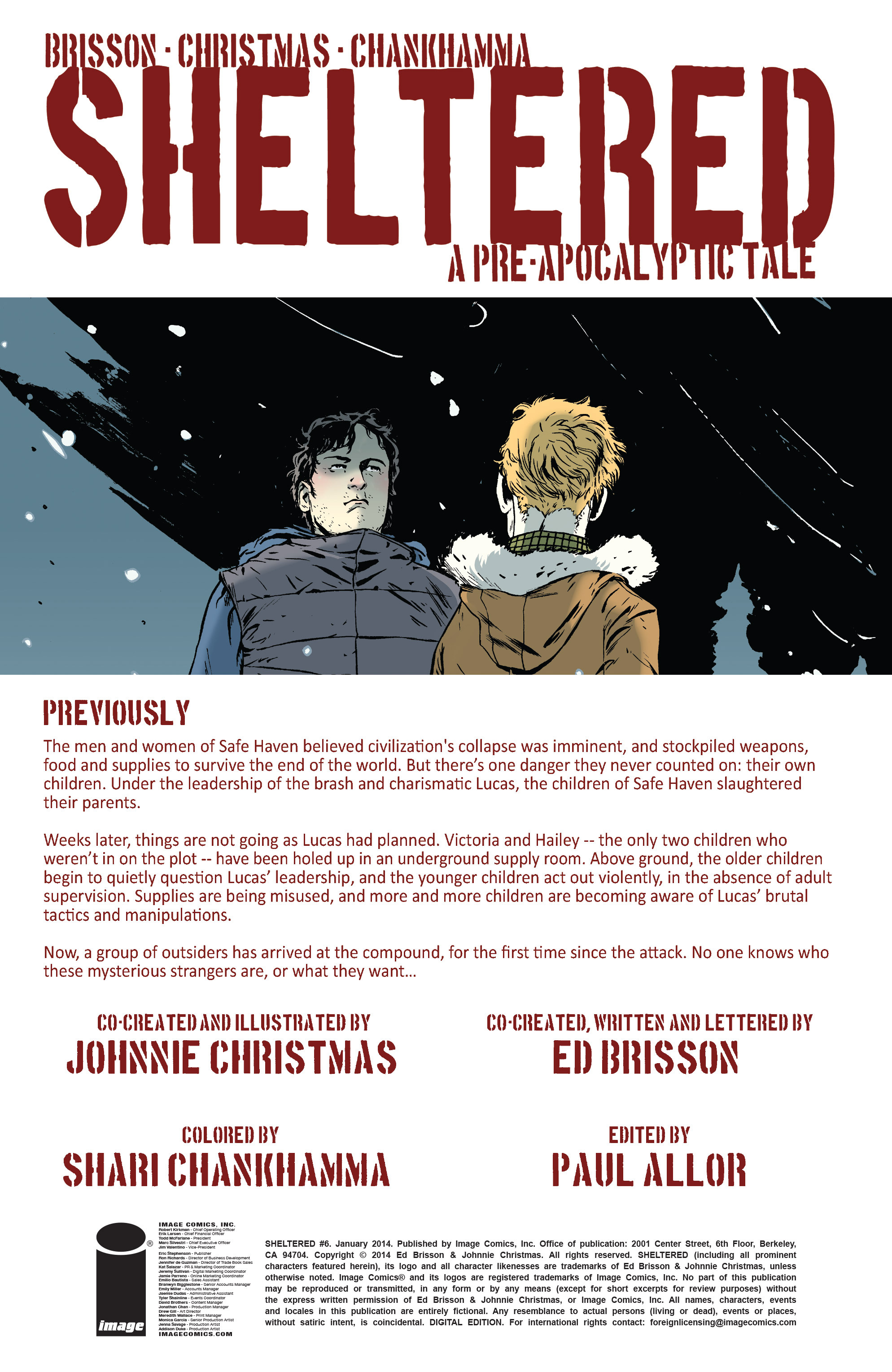 Read online Sheltered comic -  Issue #6 - 2
