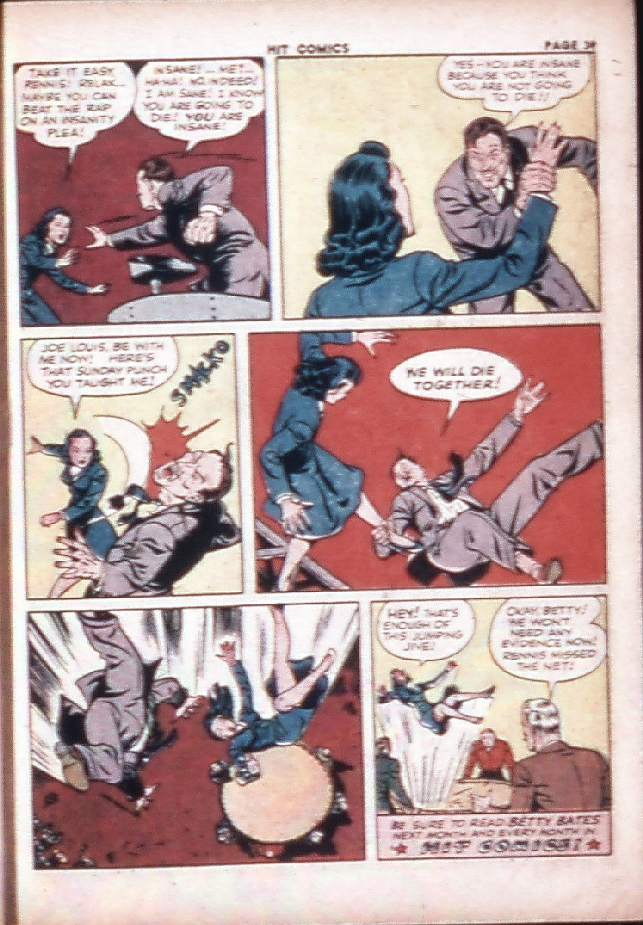 Read online Hit Comics comic -  Issue #29 - 41