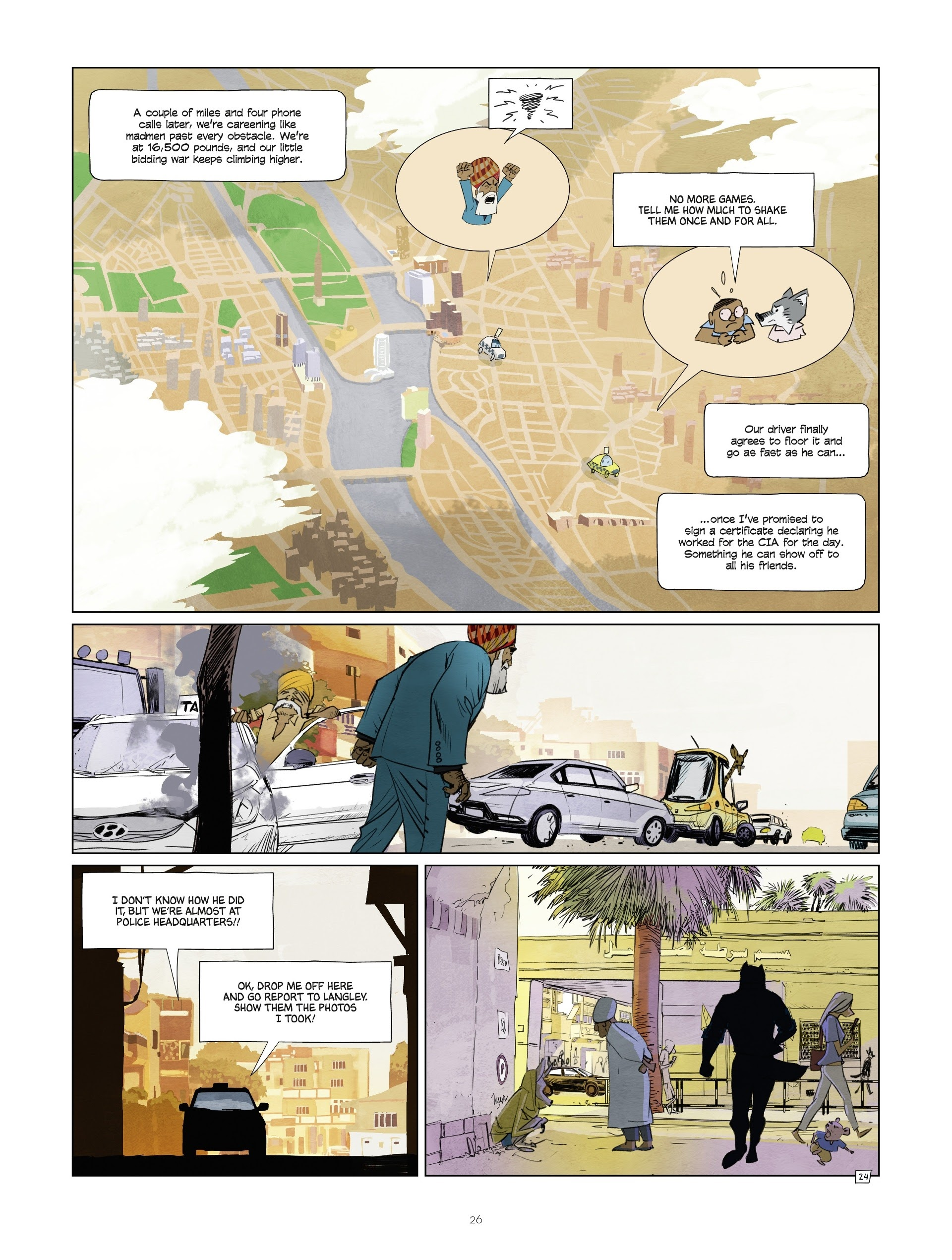 Read online Jack Wolfgang comic -  Issue #3 - 28
