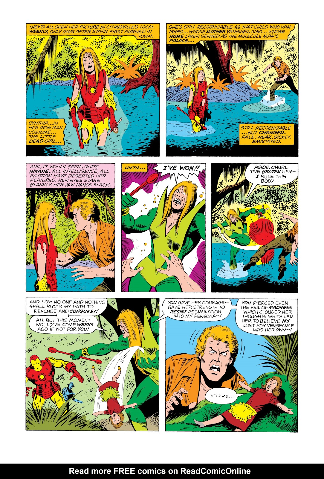 Read online Marvel Masterworks: The Invincible Iron Man comic -  Issue # TPB 11 (Part 2) - 50