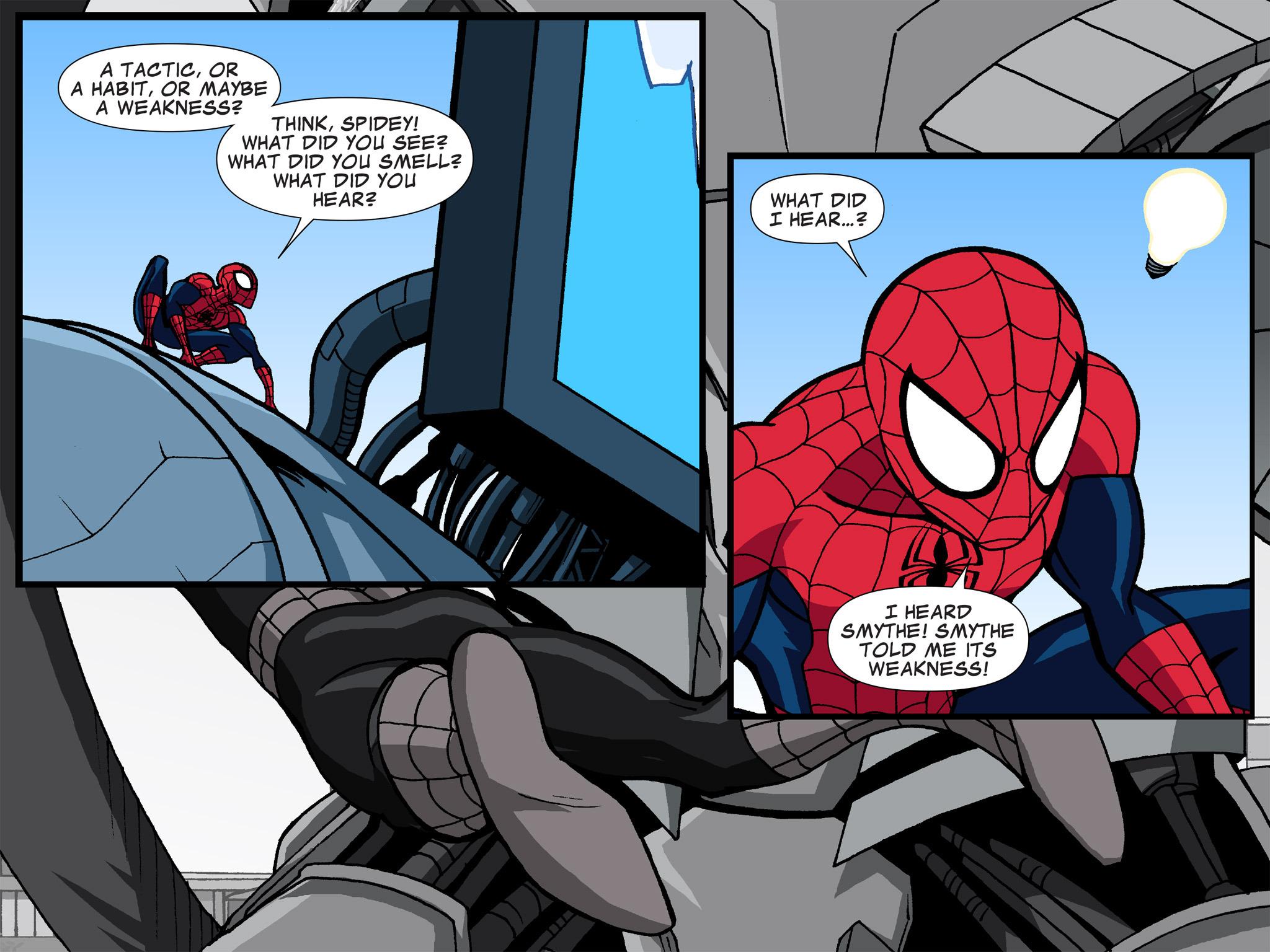 Read online Ultimate Spider-Man (Infinite Comics) (2015) comic -  Issue #6 - 32
